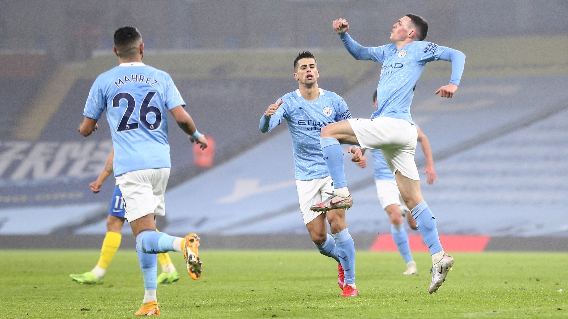 Manchester City 1-0 Brighton and Hove Albion: Foden extends unbeaten run
