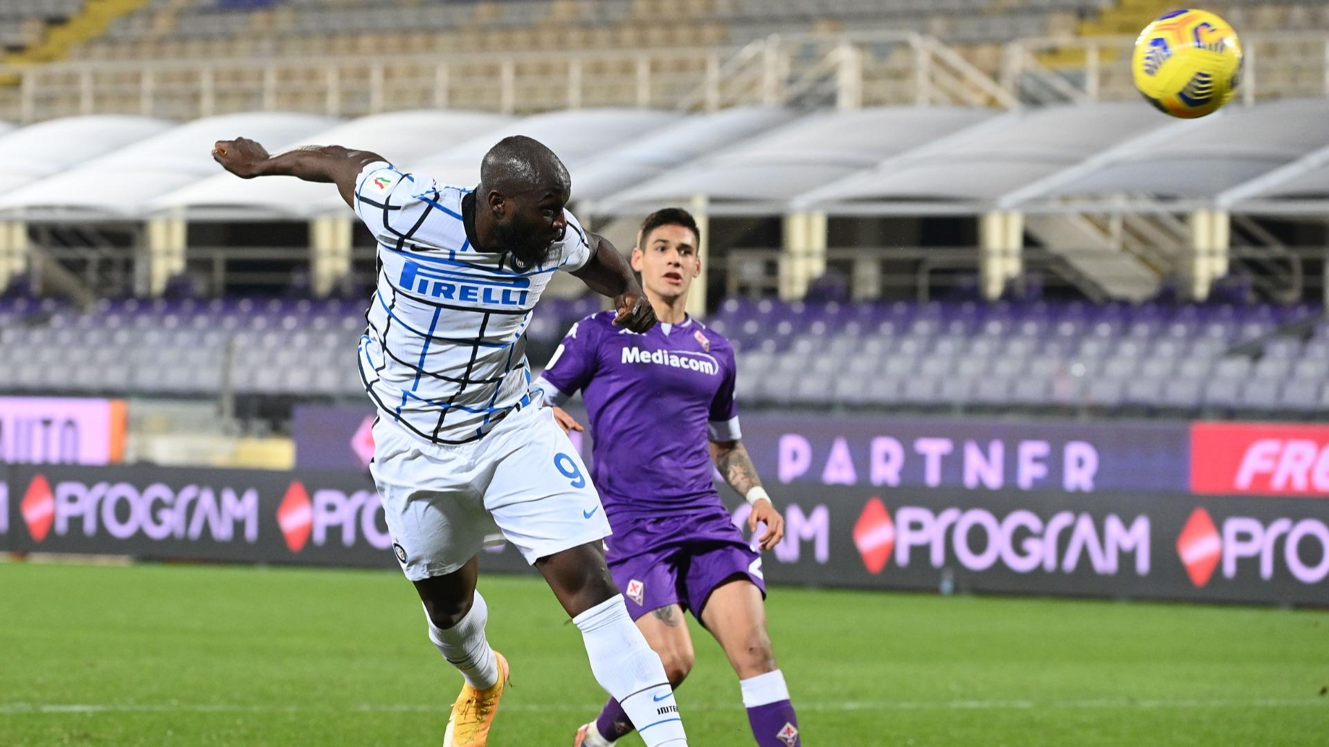 Fiorentina 1-2 Inter (aet): Lukaku leaves it late for last-16 winner