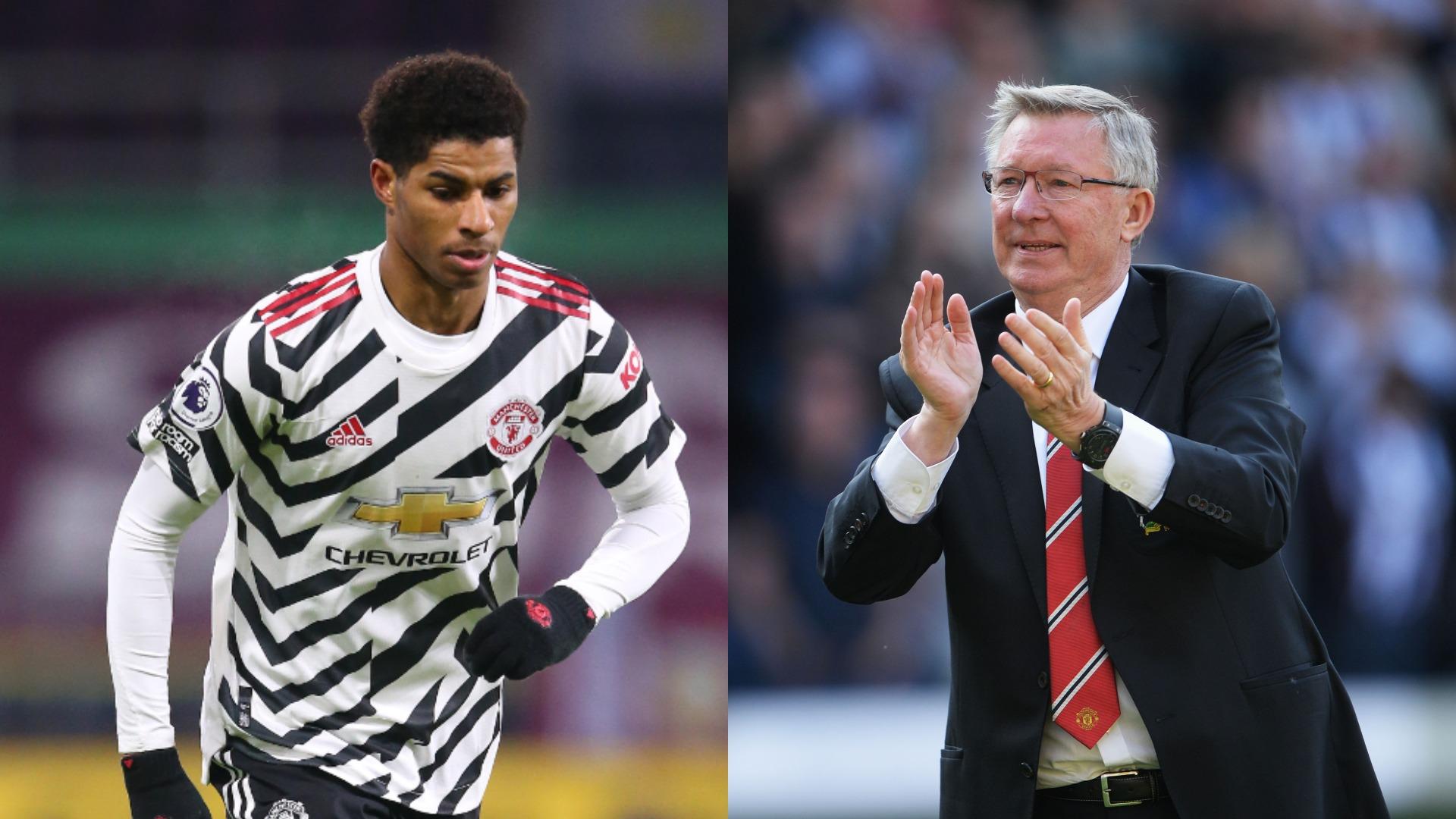 Rashford's only regret not playing for Man Utd great Ferguson