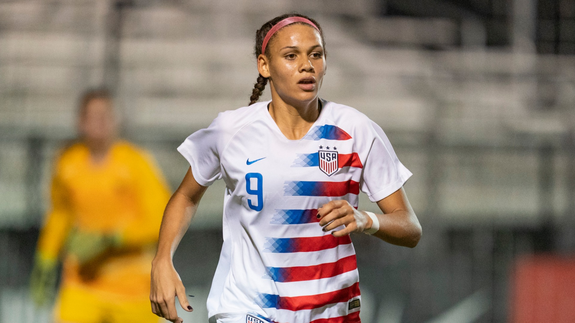 Dennis Rodman's daughter Trinity 'excited to pave my own path' after going second in NWSL draft