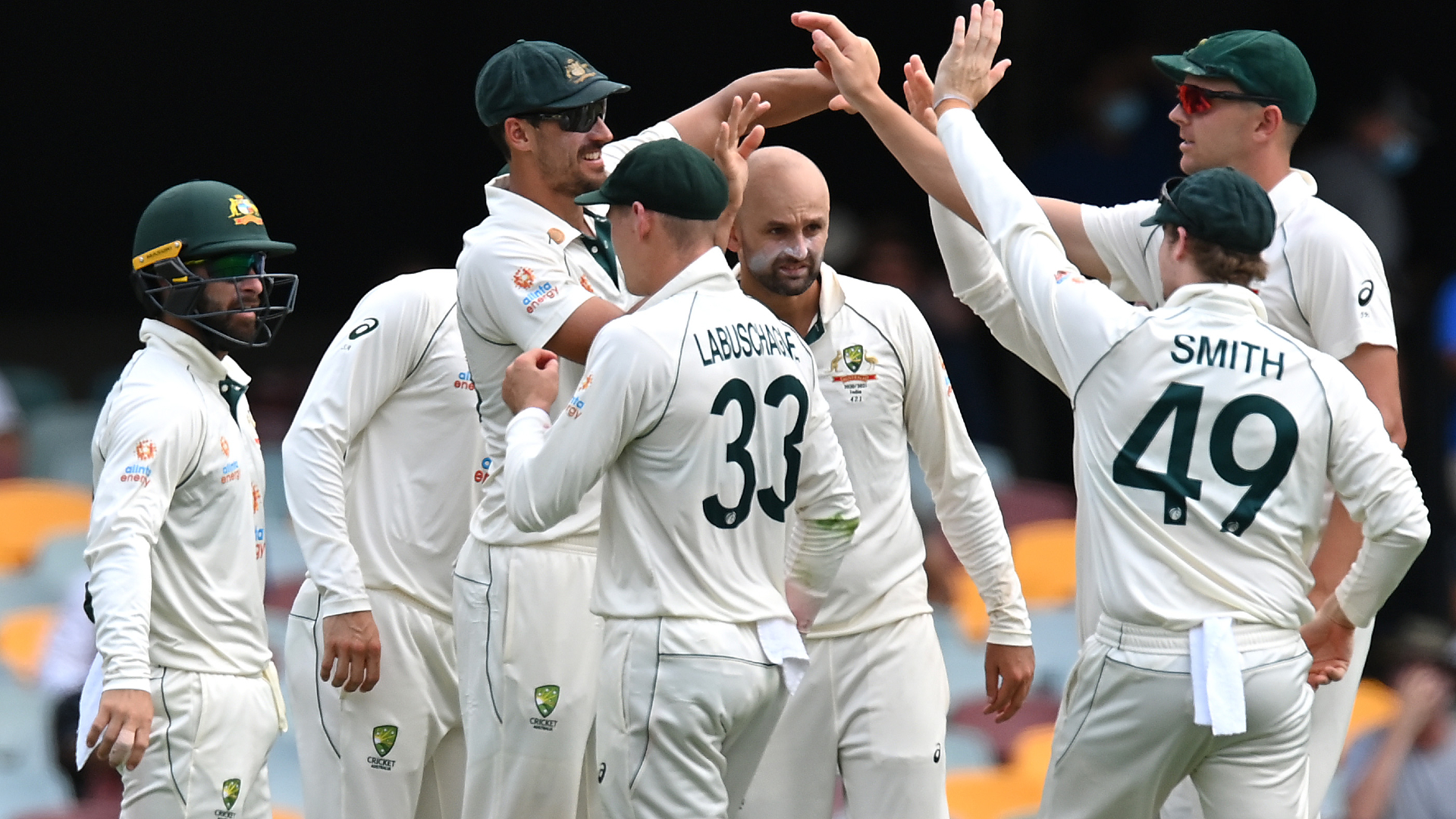 Australia left frustrated as rain cuts day two short in Brisbane
