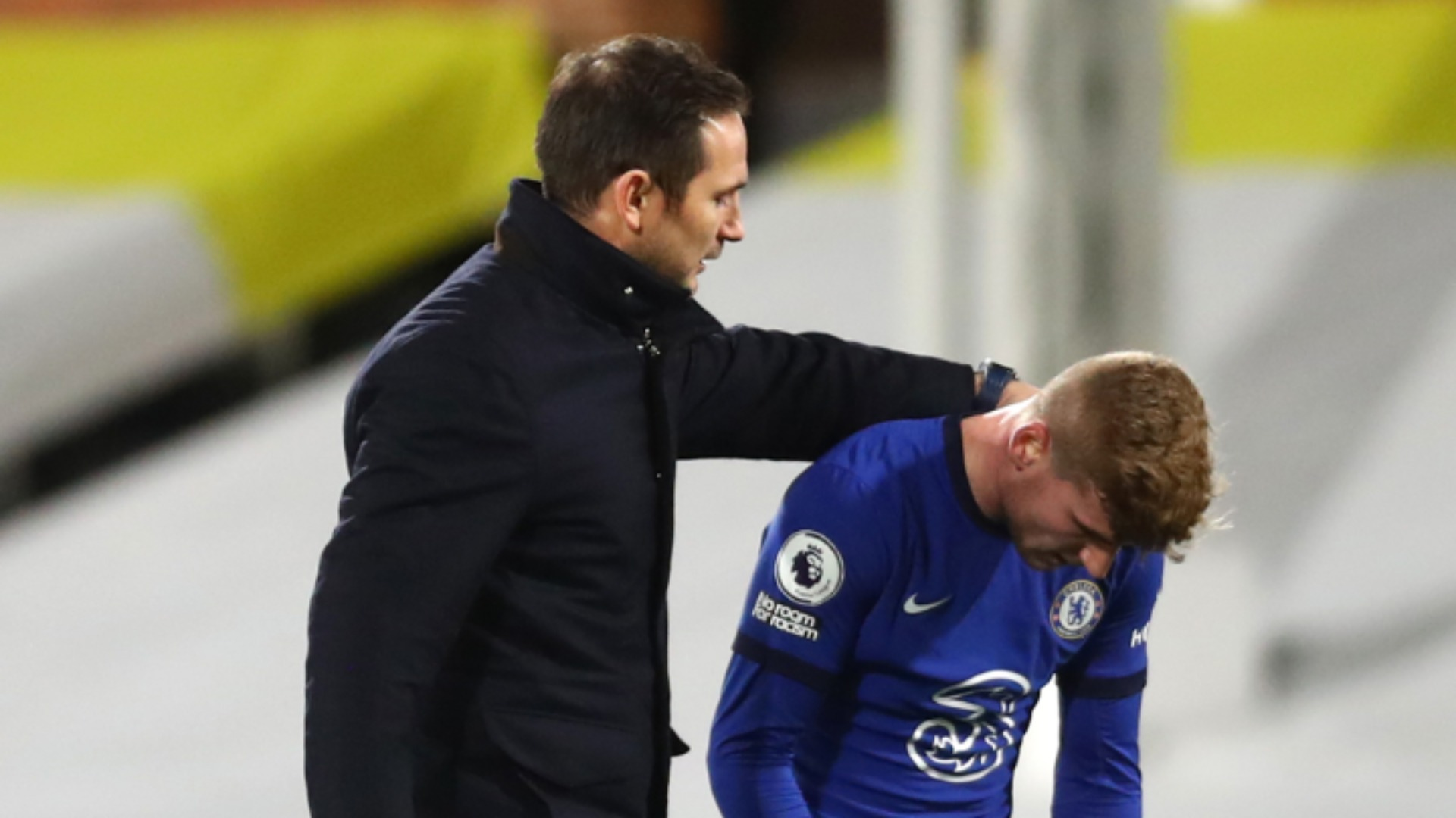 Lampard calm on Werner drought despite missing 'bread and butter' chance