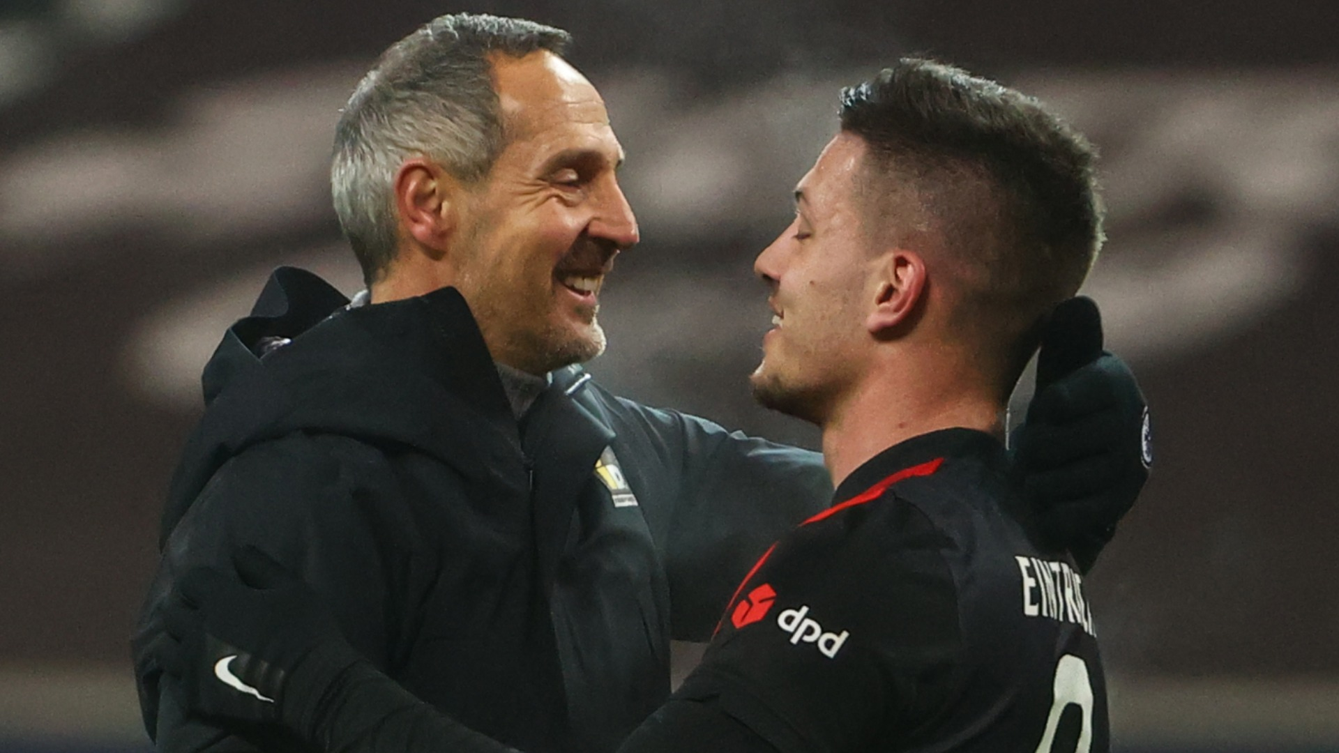 Jovic matches Madrid tally in 28-minute Eintracht cameo