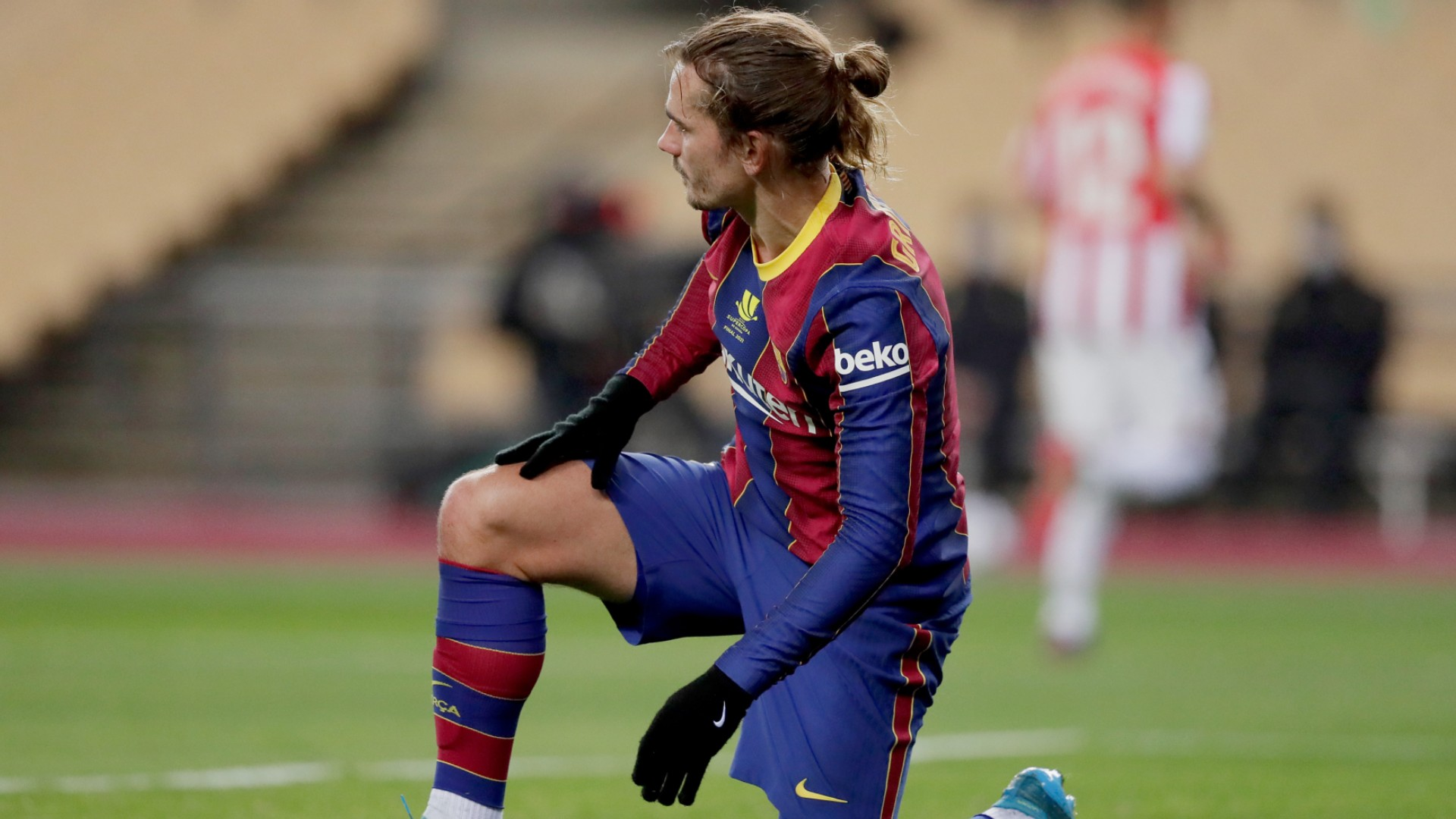'We're screwed, angry, upset' – Griezmann snaps back after Barca fall in Supercopa final