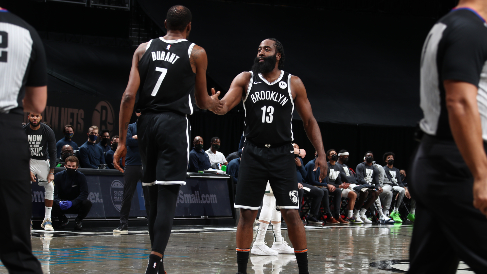 Durant and Harden hail 'seamless transition' after NBA record