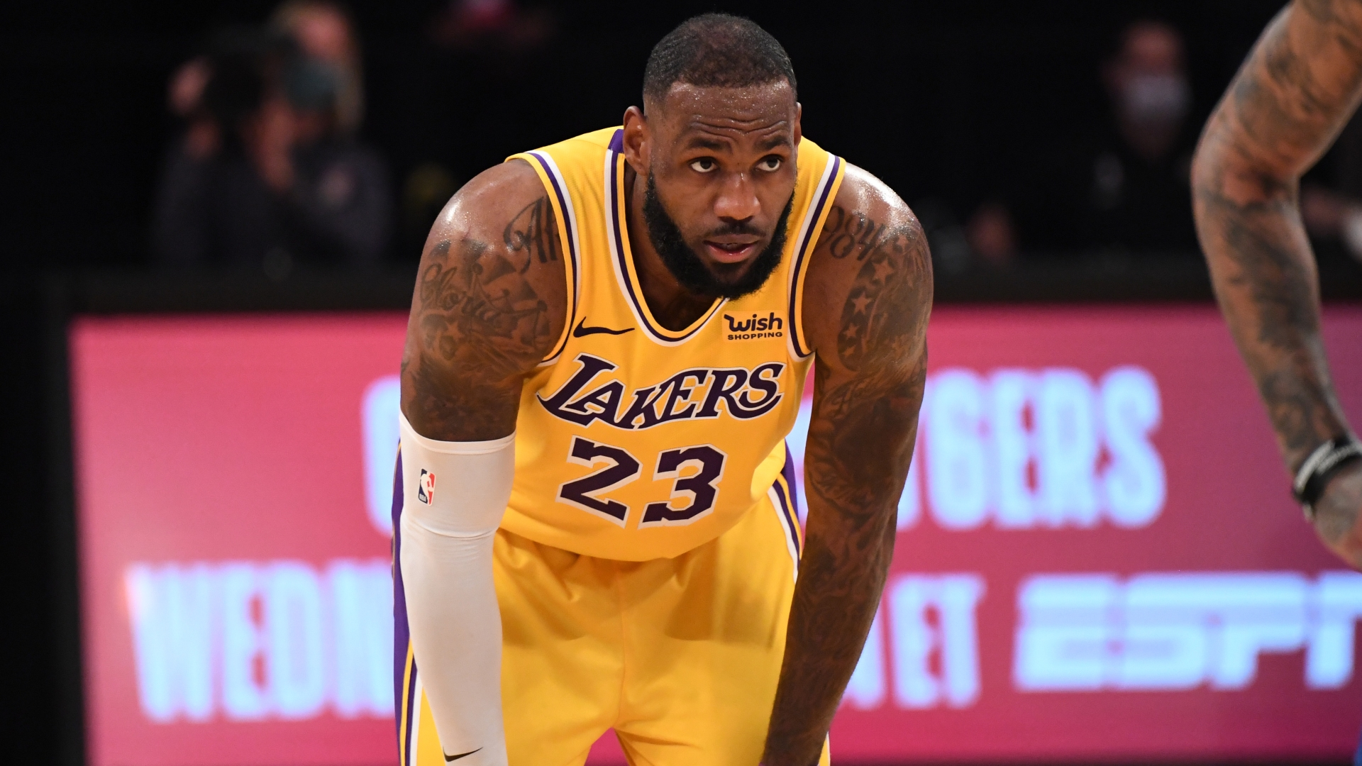 LeBron James frustrated after incredible Lakers collapse against Warriors