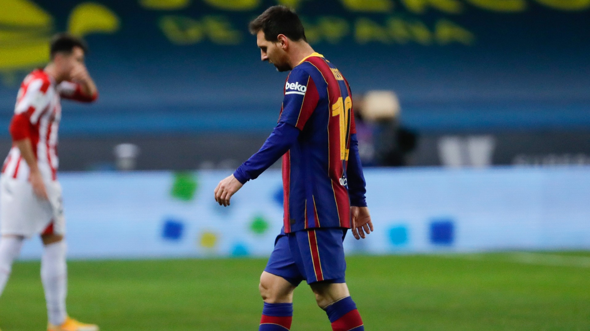 Messi receives two-match ban for Supercopa red