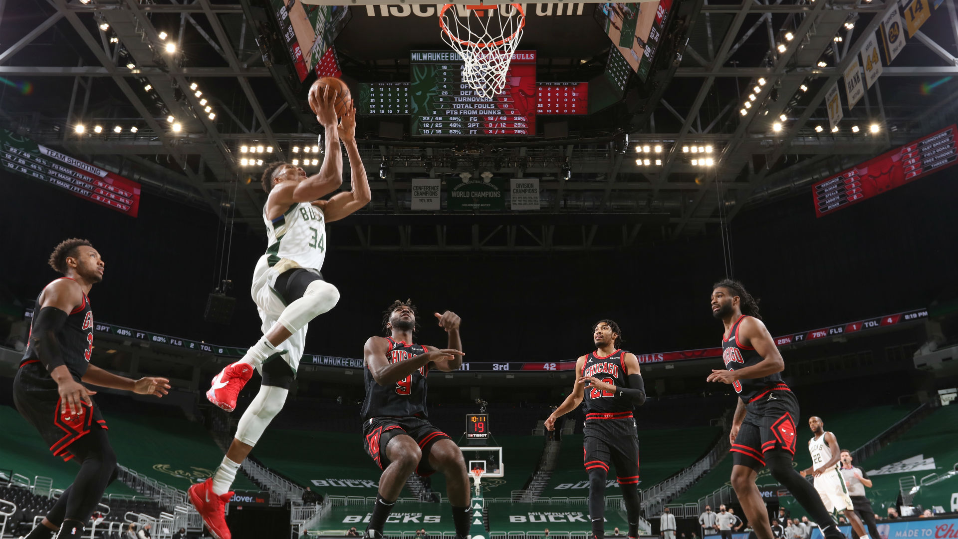 It's just a blessing – Williams takes pride in guarding Giannis despite Bucks victory