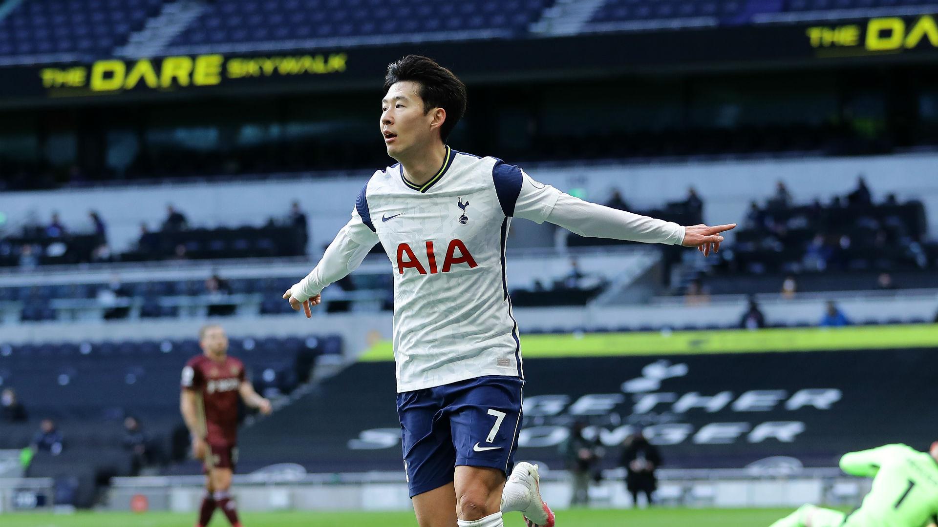 Tottenham century up for Son as Kane provides again