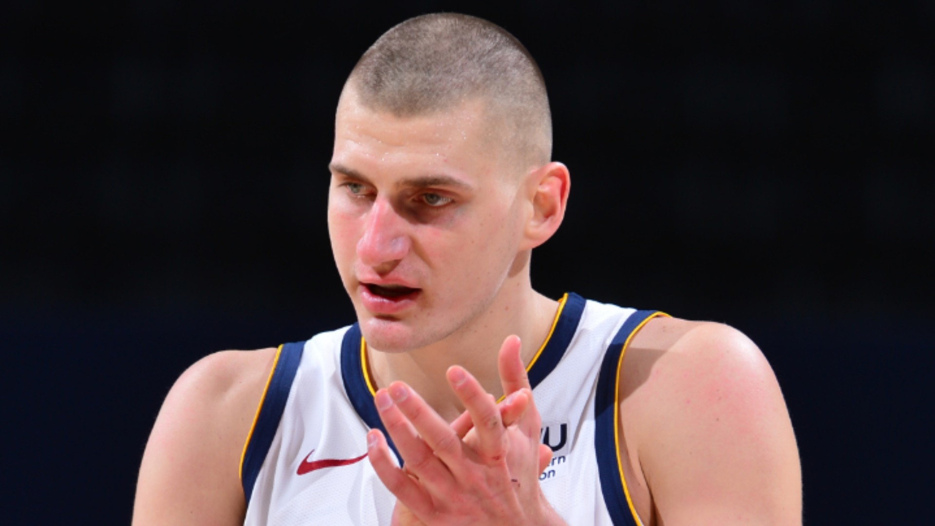 How did Malone get Jokic to score more? - I beat him with a pillowcase of soda cans, jokes Nuggets coach