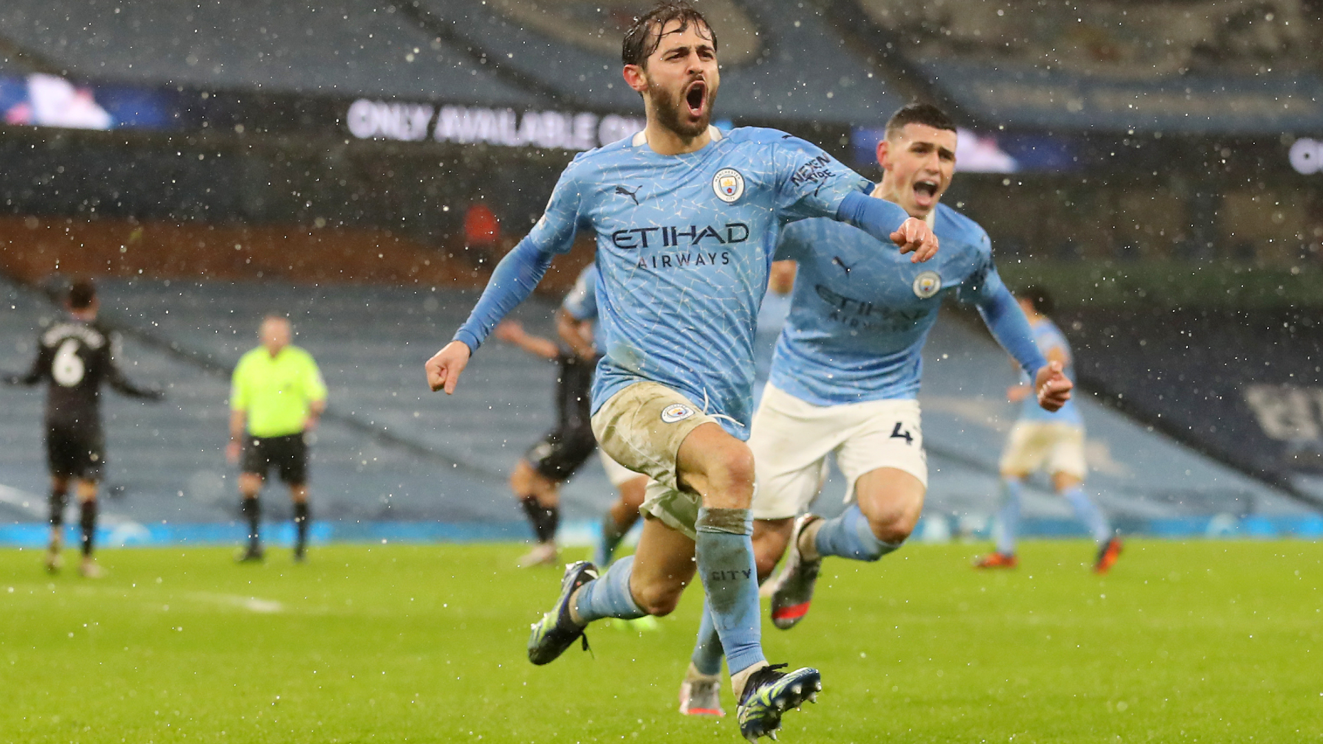 Bernardo Silva relieved to end Premier League goal drought as City roll on