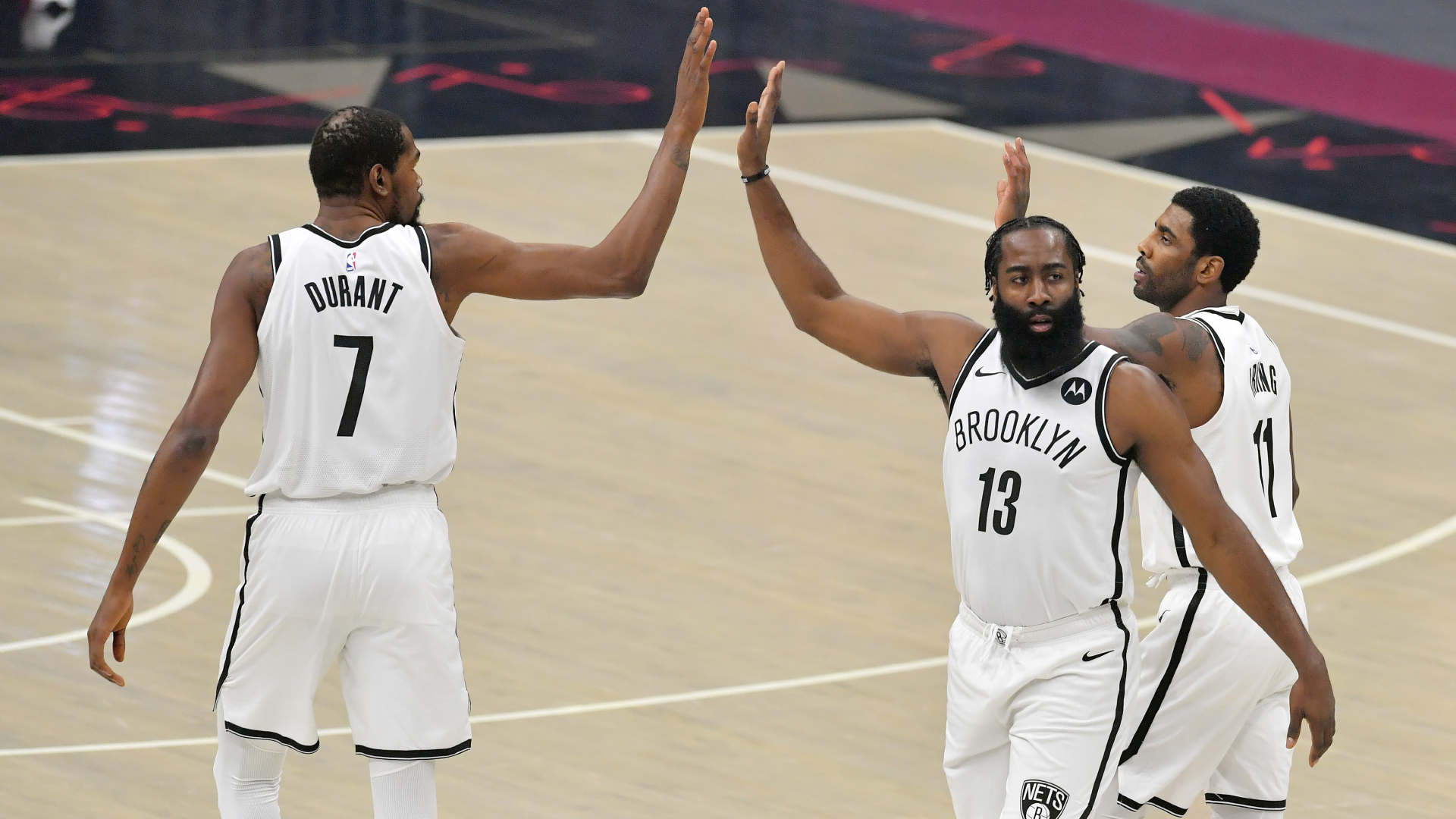 Nets' 'Big Three' 'felt perfect' to Durant despite loss