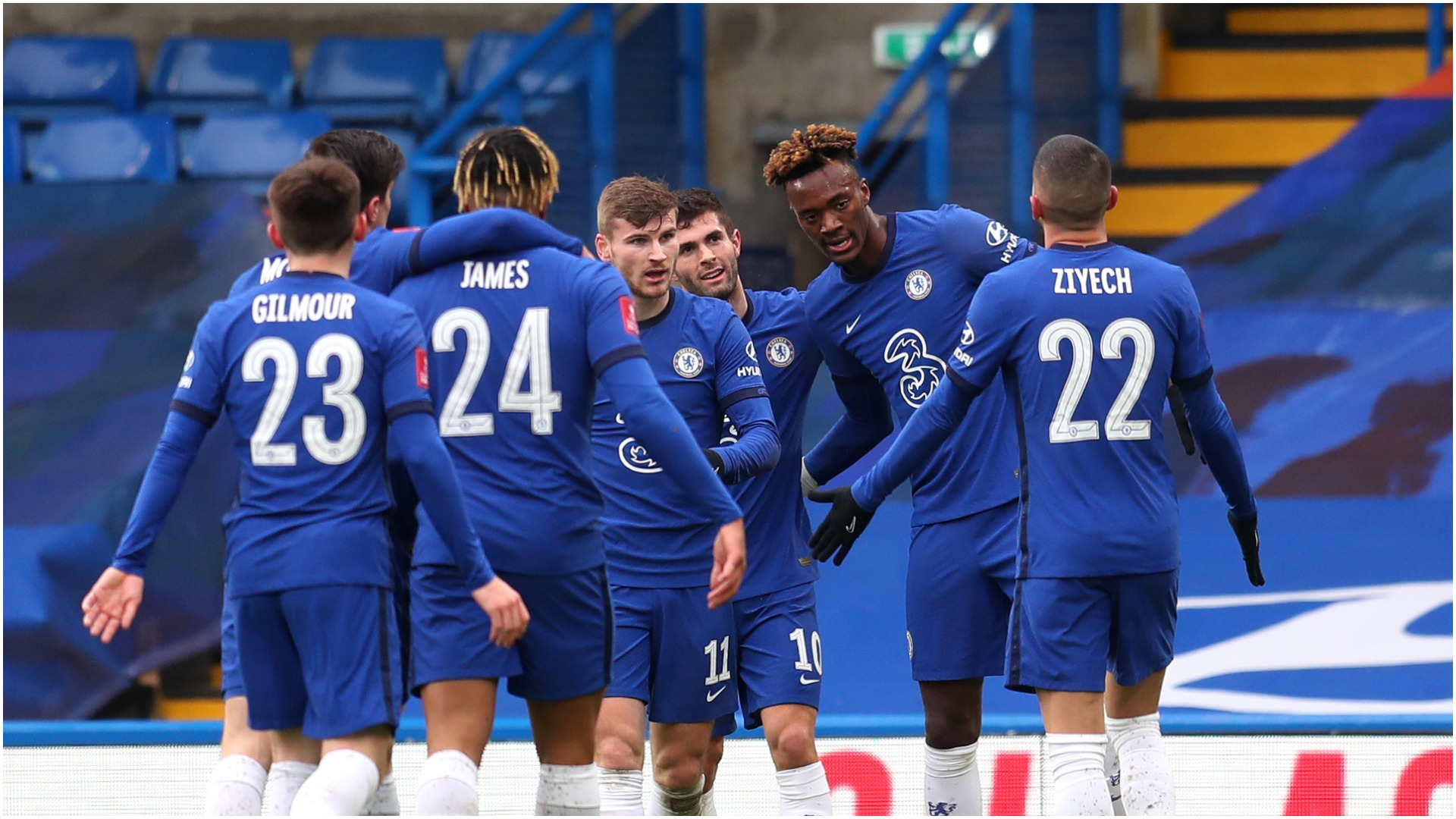 Chelsea 3-1 Luton Town: Abraham hits hat-trick as Kepa and Werner falter