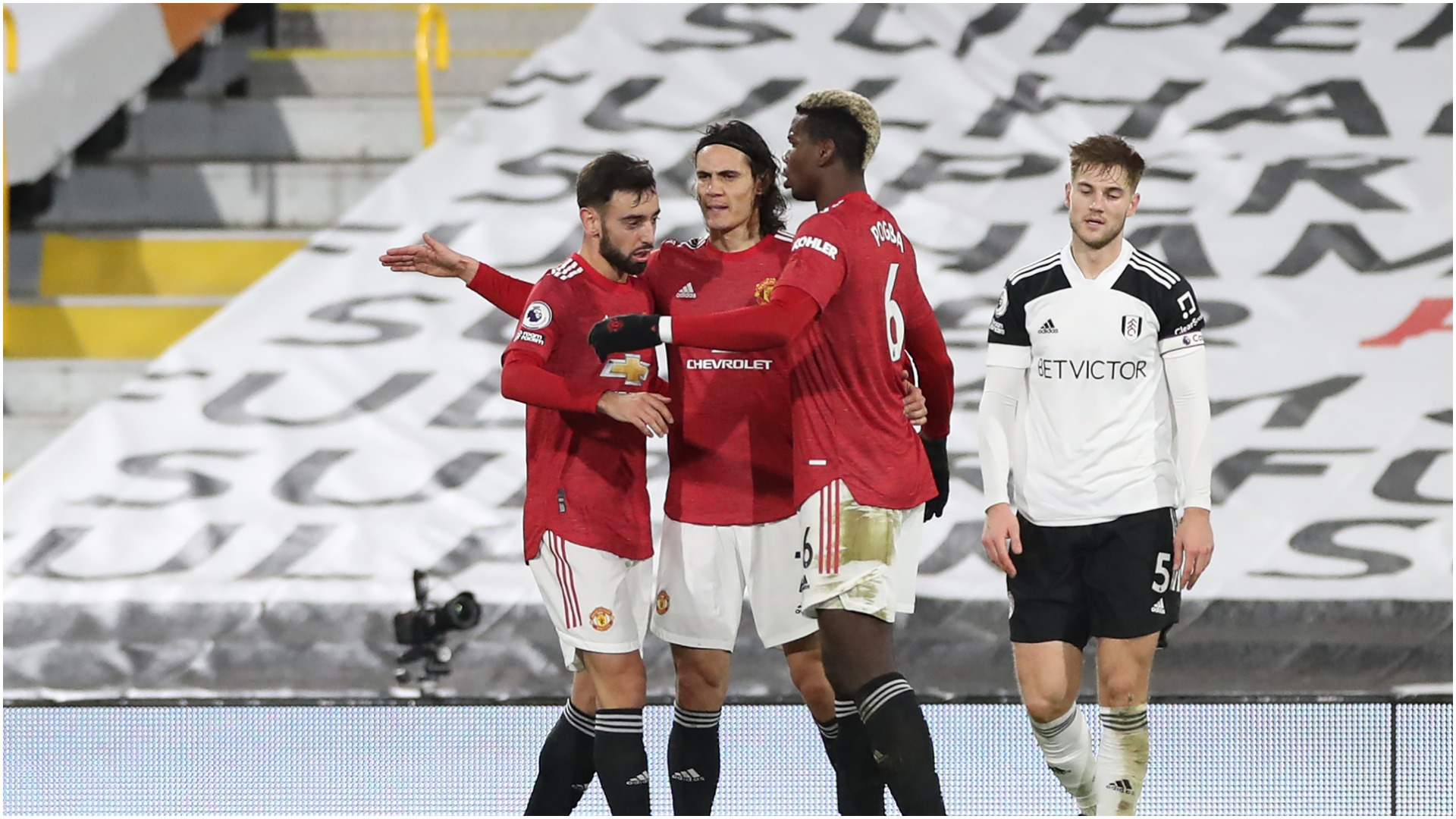 Fernandes, Cavani and Pogba driving Man Utd's mentality shift – Solskjaer