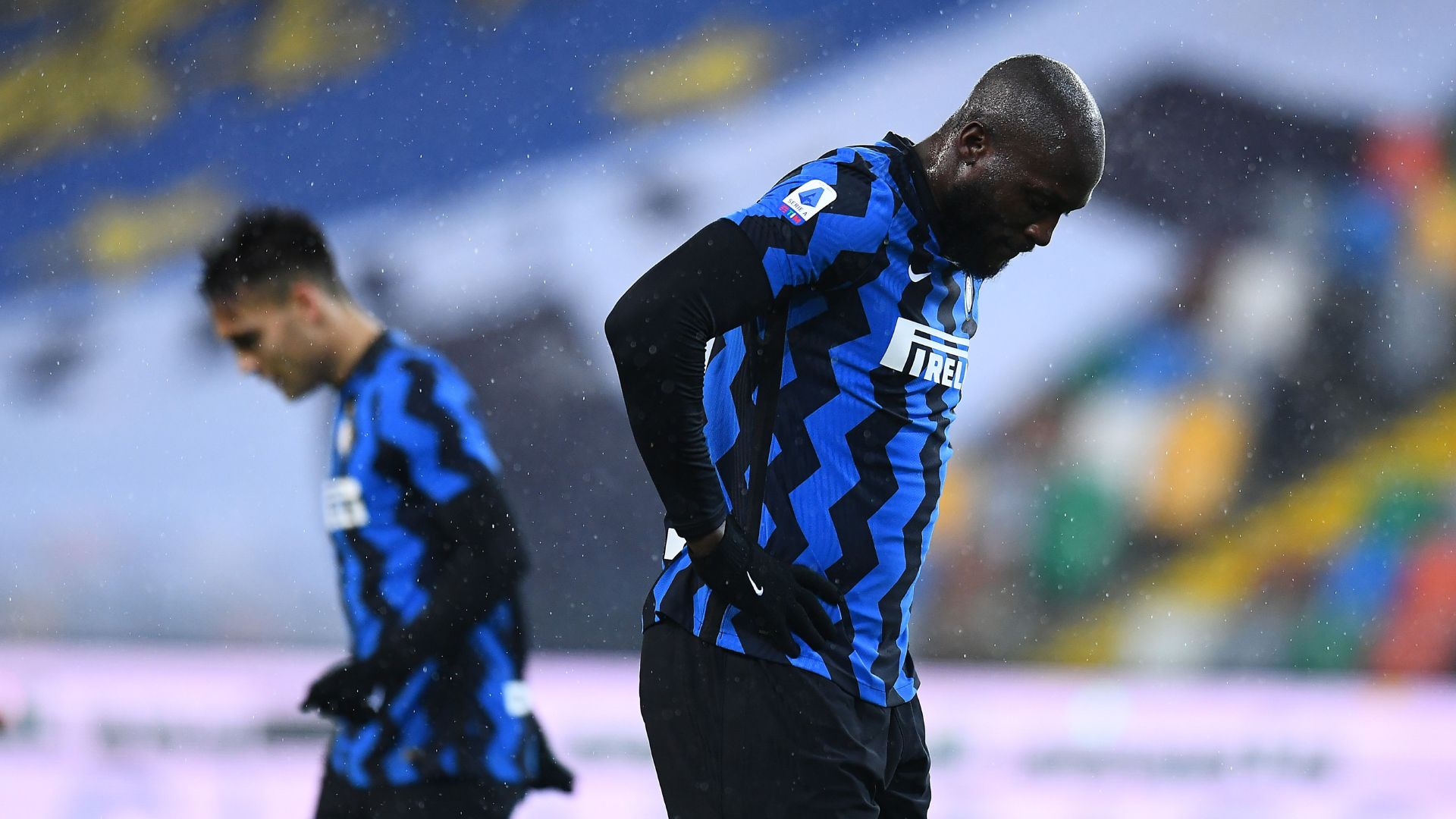Udinese 0-0 Inter: Conte sent off as Nerazzurri miss chance to go top