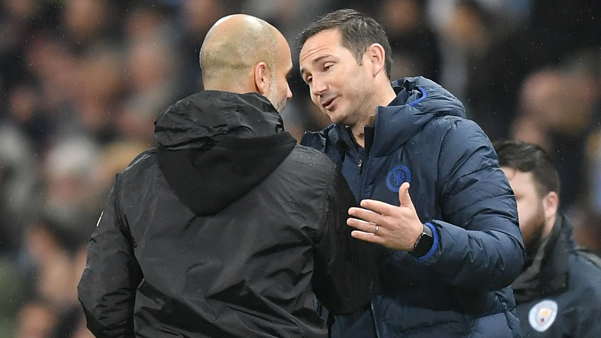 Guardiola discusses Lampard sacking: Projects and ideas don't exist - you have to win!