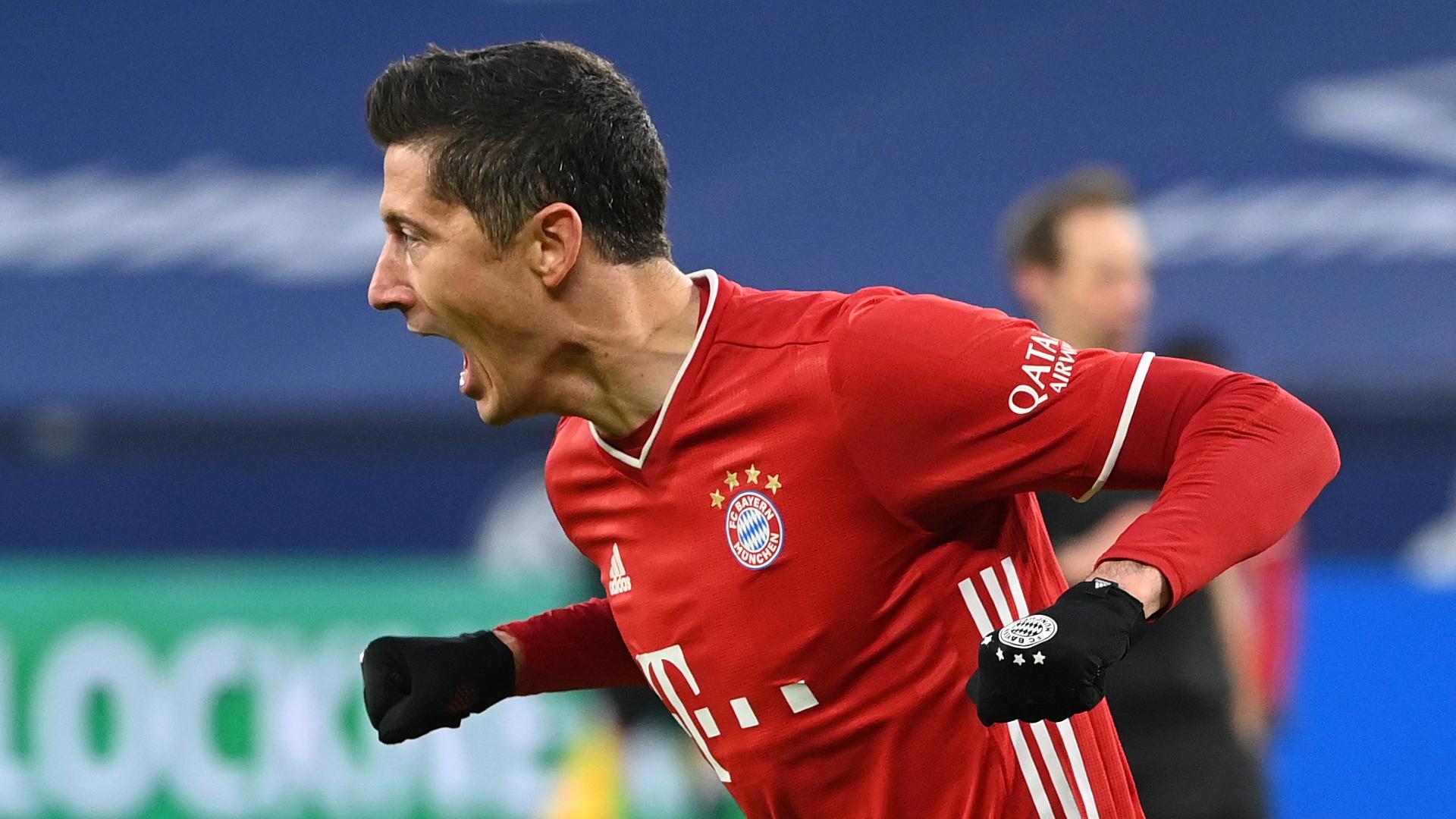 Schalke 0-4 Bayern Munich: Lewandowski makes more history as champions go seven points clear
