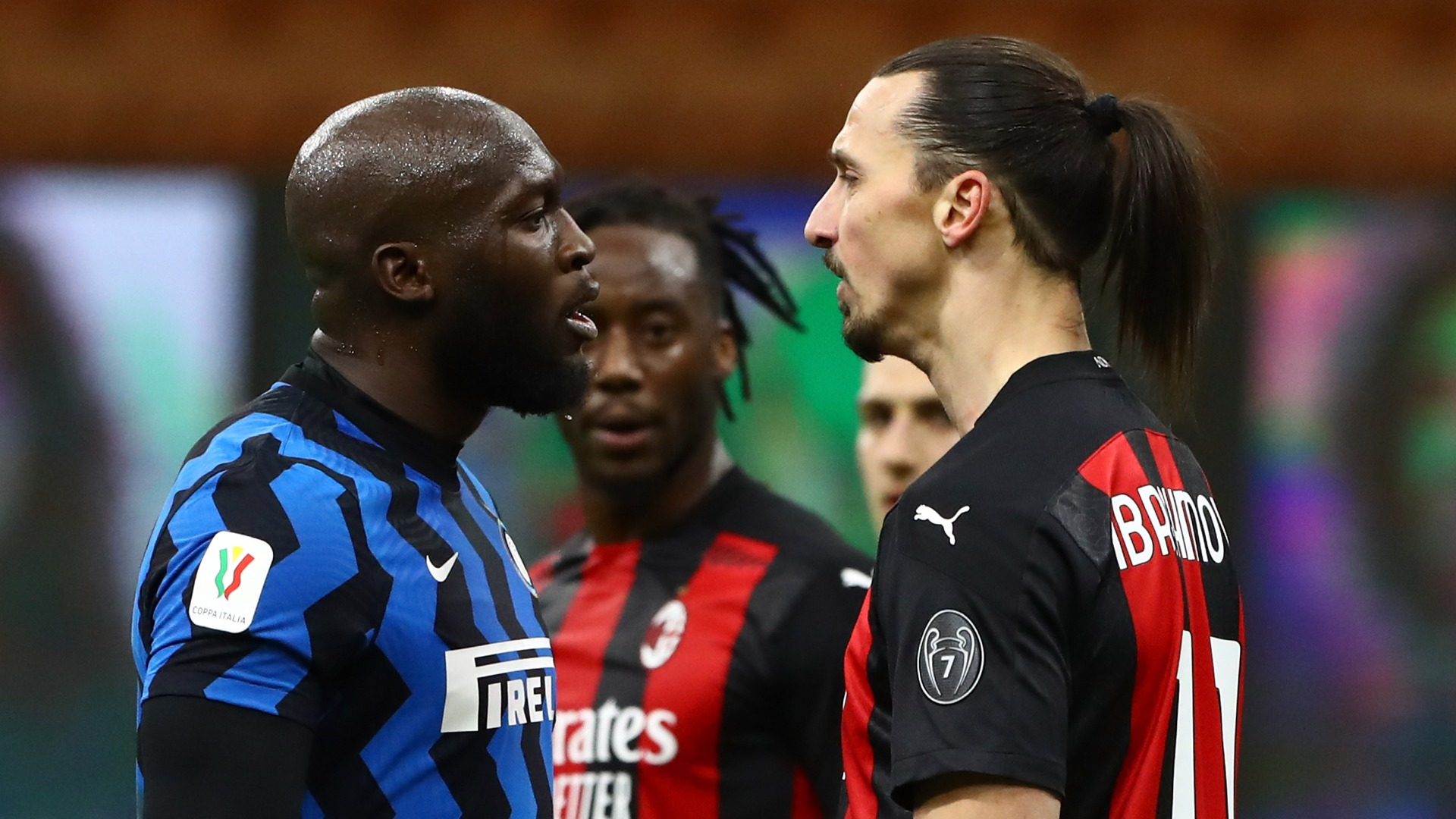 Ibrahimovic denies using racist insults in heated Lukaku clash