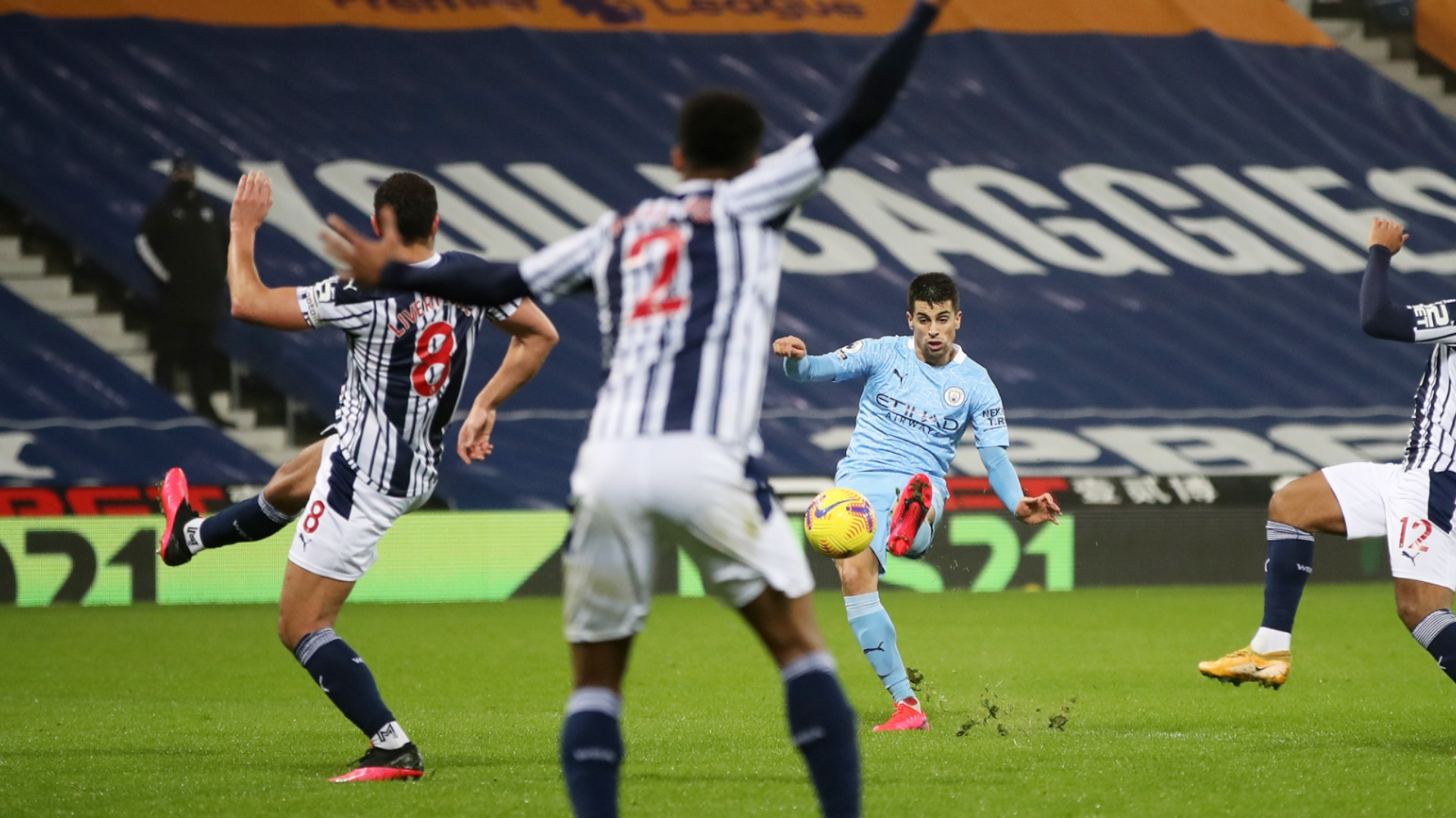 Guardiola sympathises with West Brom after City's latest offside controversy