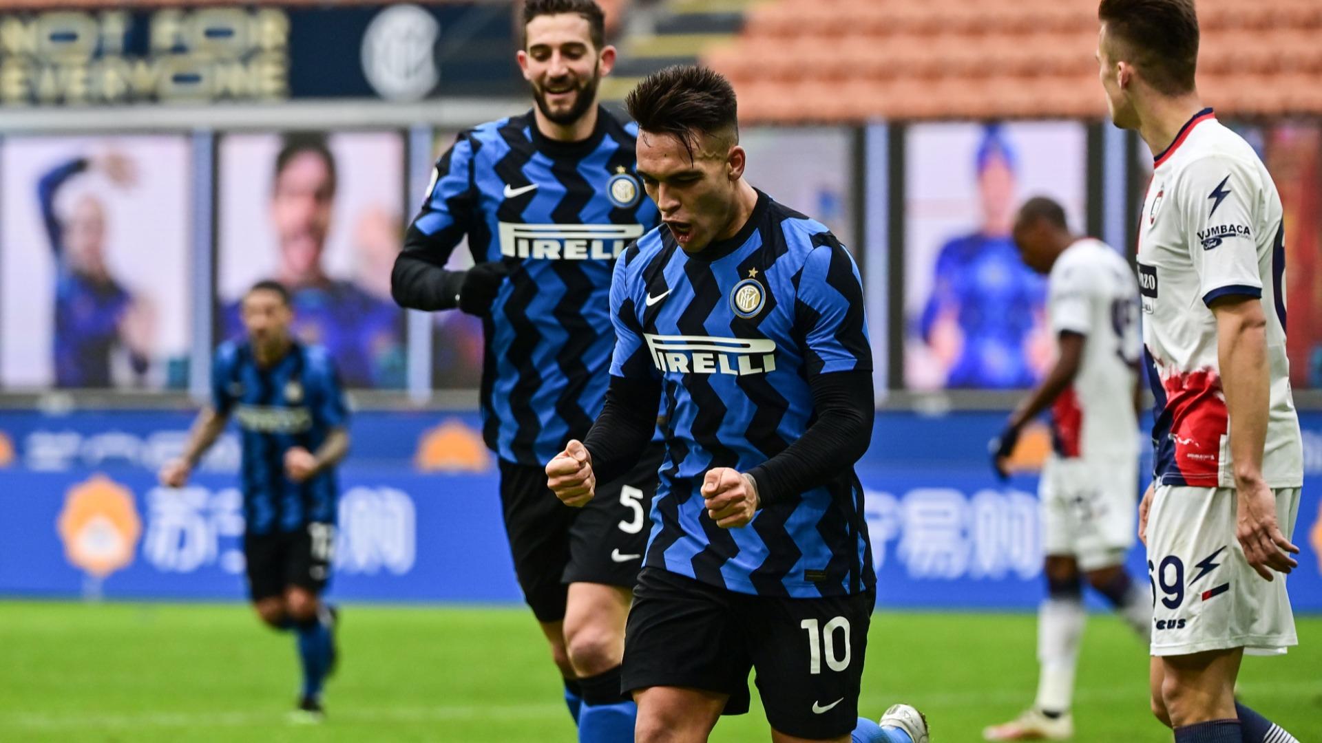 Inter 6-2 Crotone: Lautaro treble leads Nerazzurri to fifth straight home success