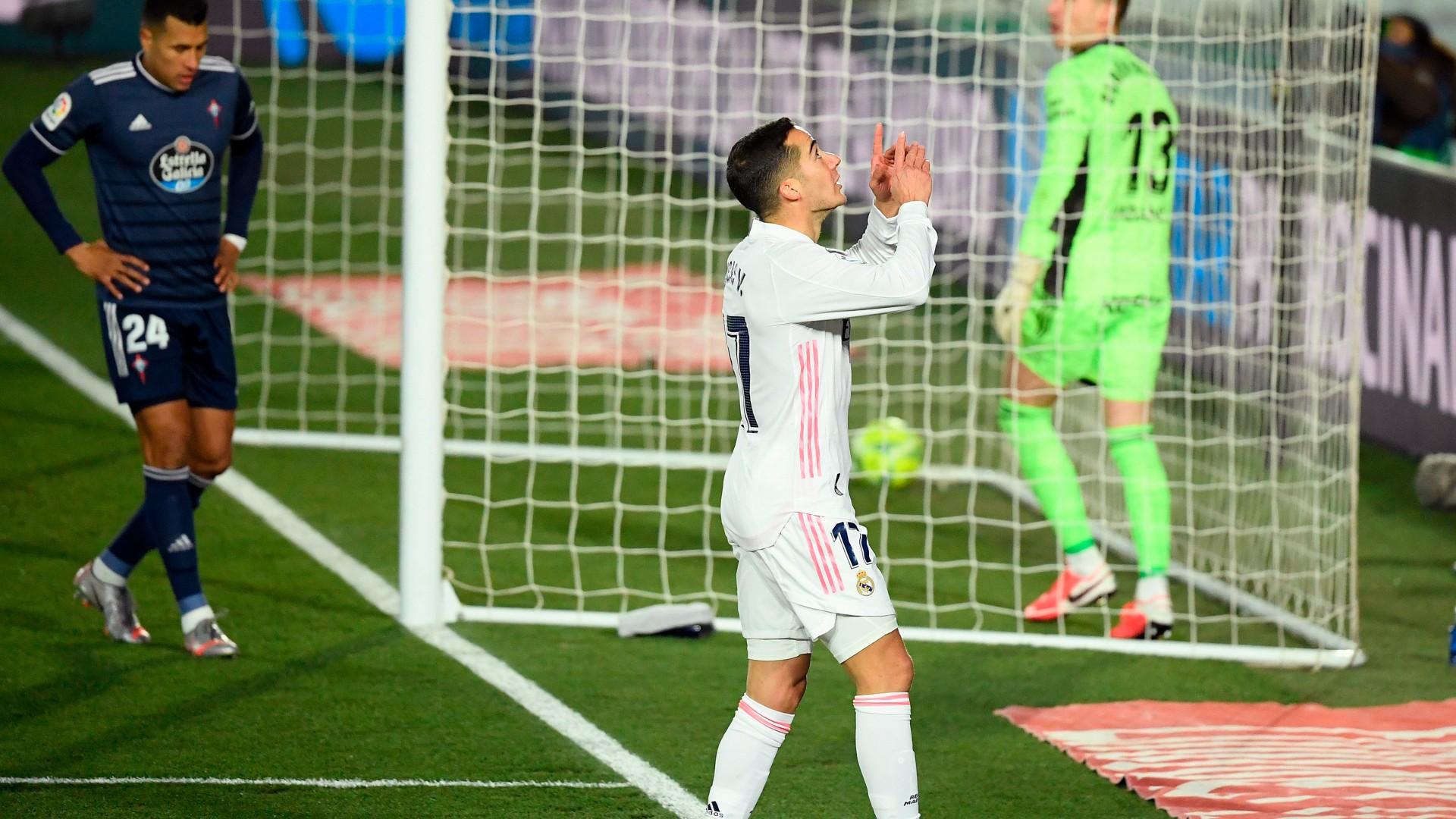 Real Madrid striker Vazquez believes Atletico have title race advantage