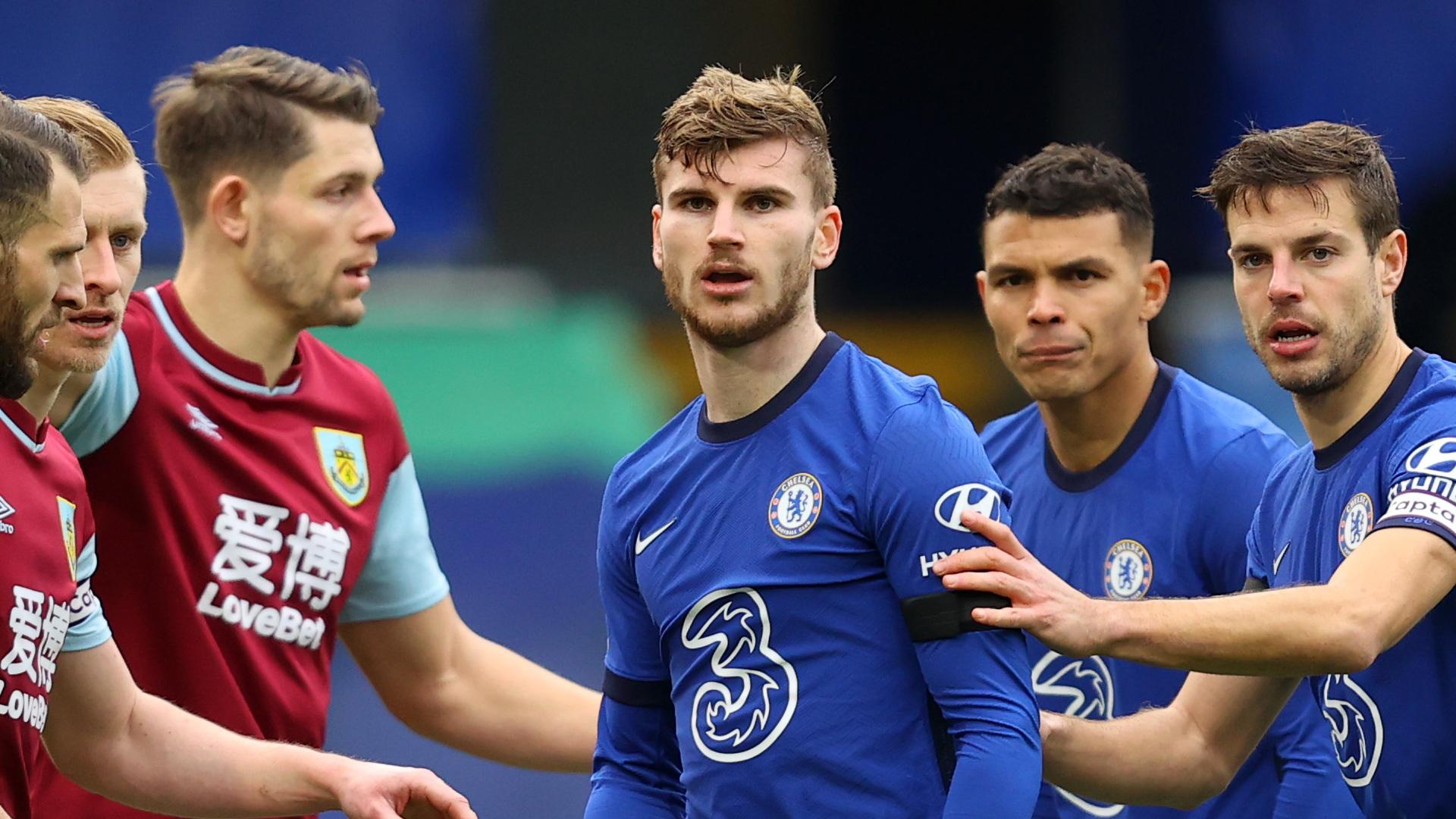 Chelsea striker Werner still 'confident' despite goal drought, claims Tuchel