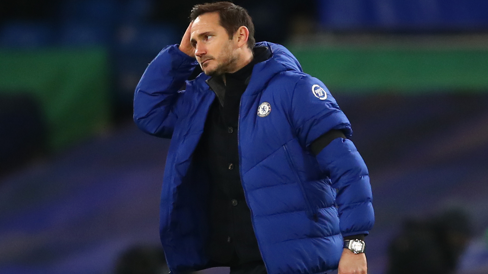 Lampard pleads for patience after Man City defeat leaves Chelsea boss under pressure