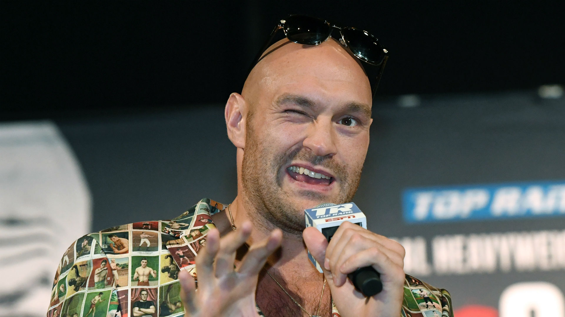 Fury questions heavyweight rival Joshua: He's got a confidence issue