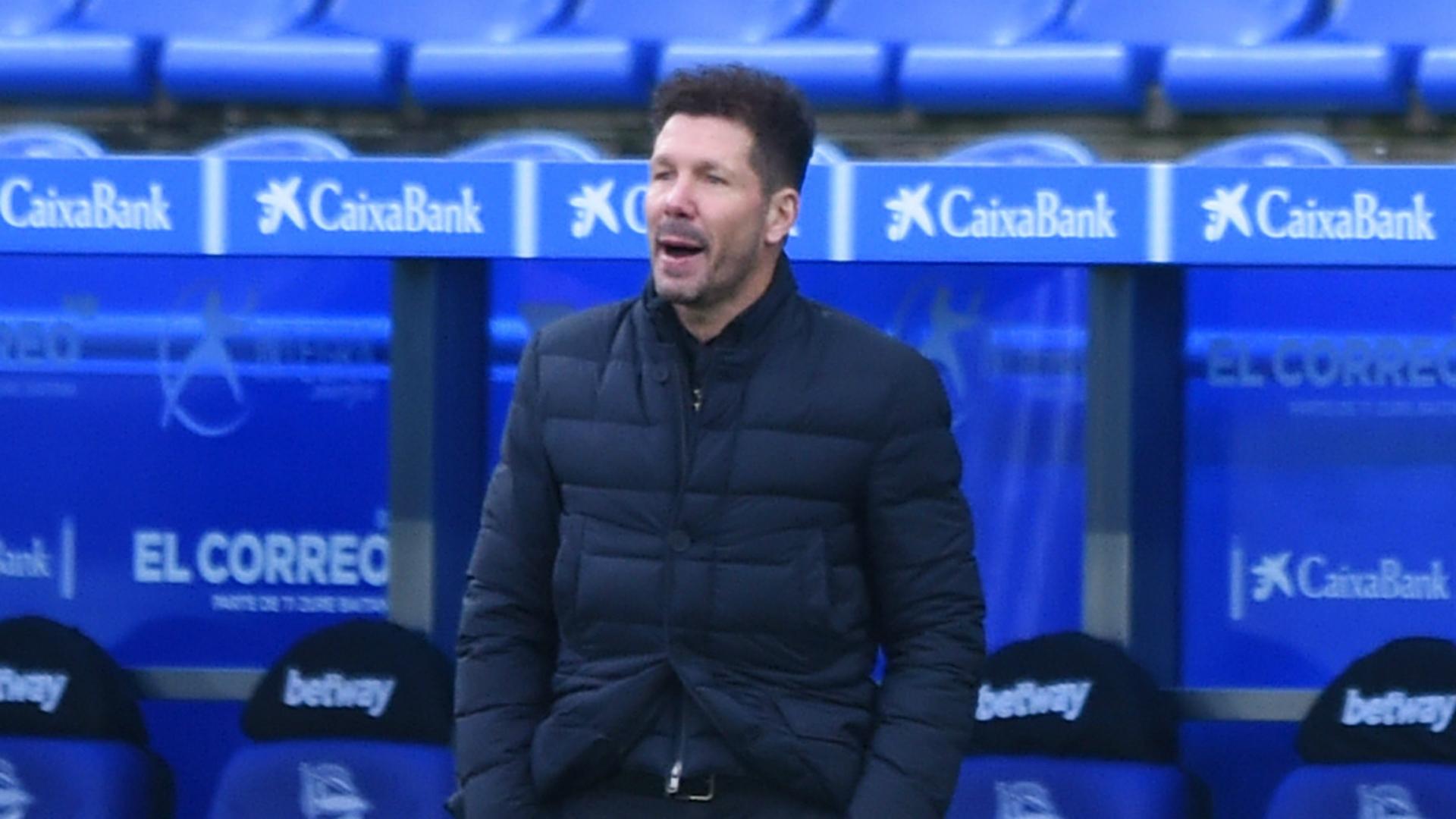 Simeone warns Atletico Madrid players of LaLiga's 'traps'