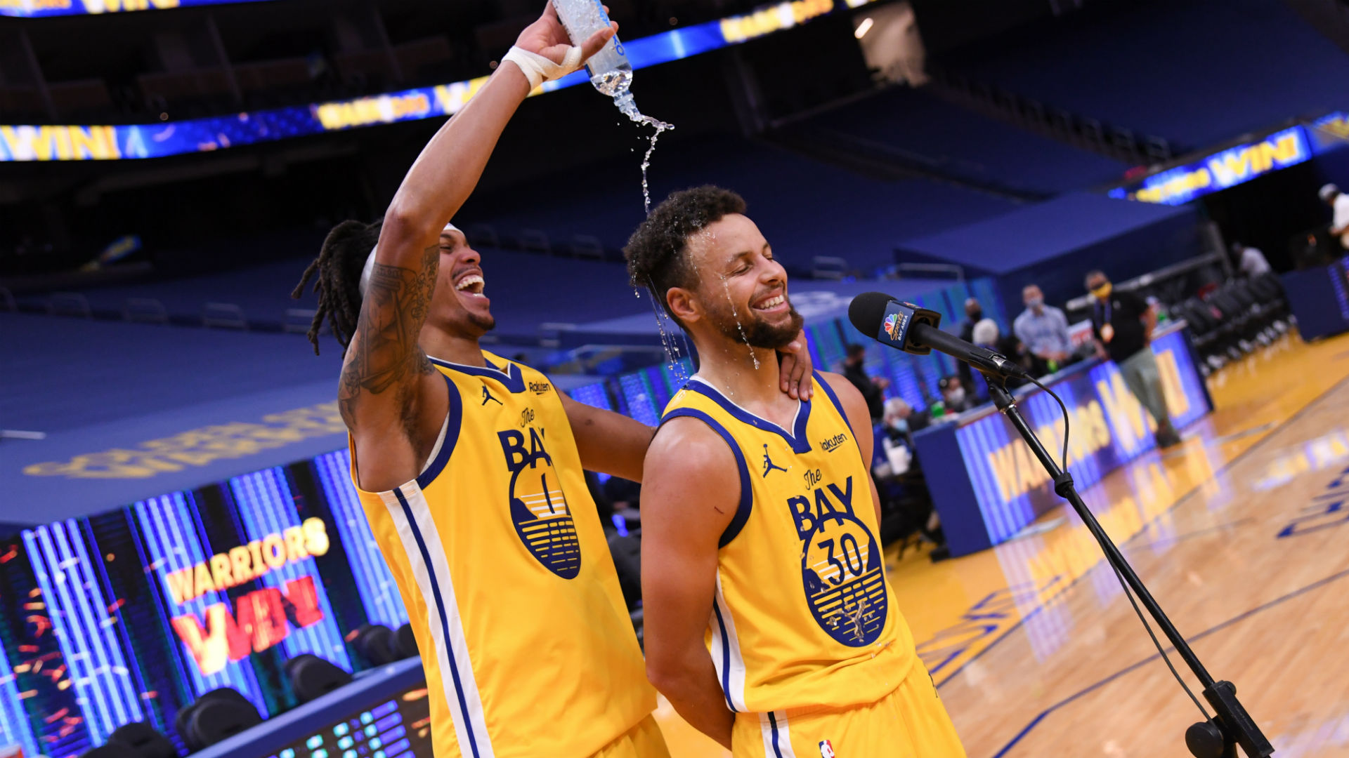 Cue the Jordan meme - Curry responds to critics with 62-point show in Warriors win