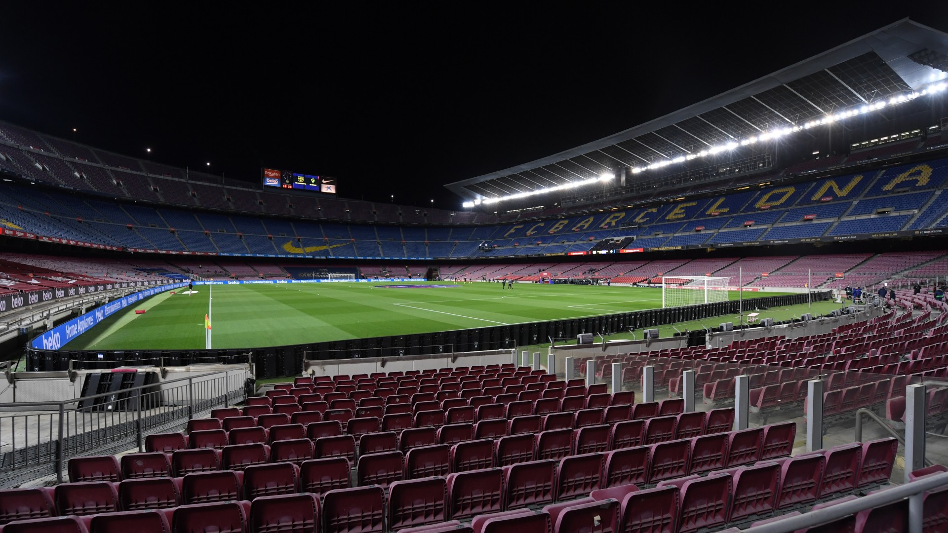 Barcelona postpone training after two test positive for COVID-19