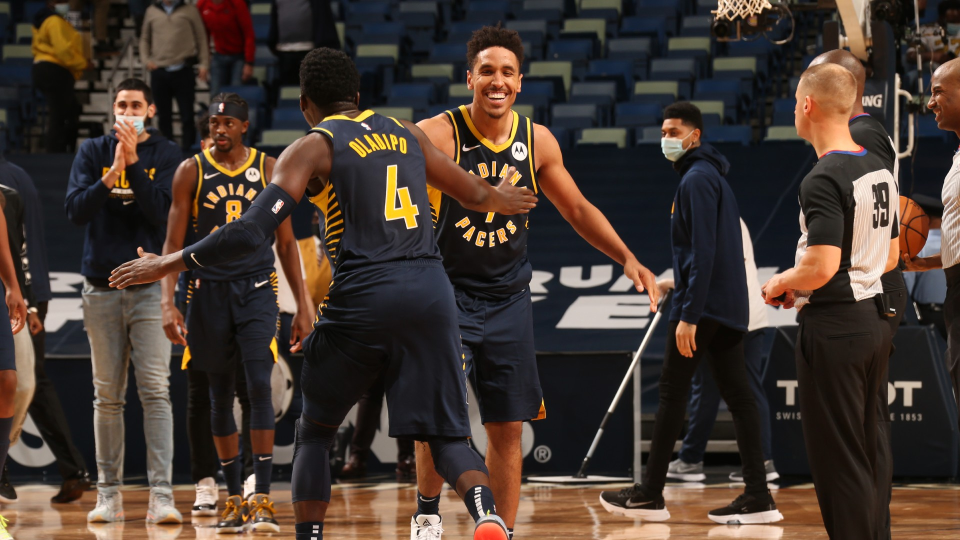 Brogdon hits clutch overtime winner for Pacers while 76ers keep soaring