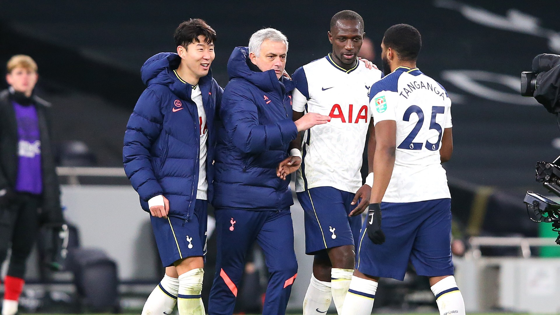Son and Sissoko put final in Mourinho's pocket