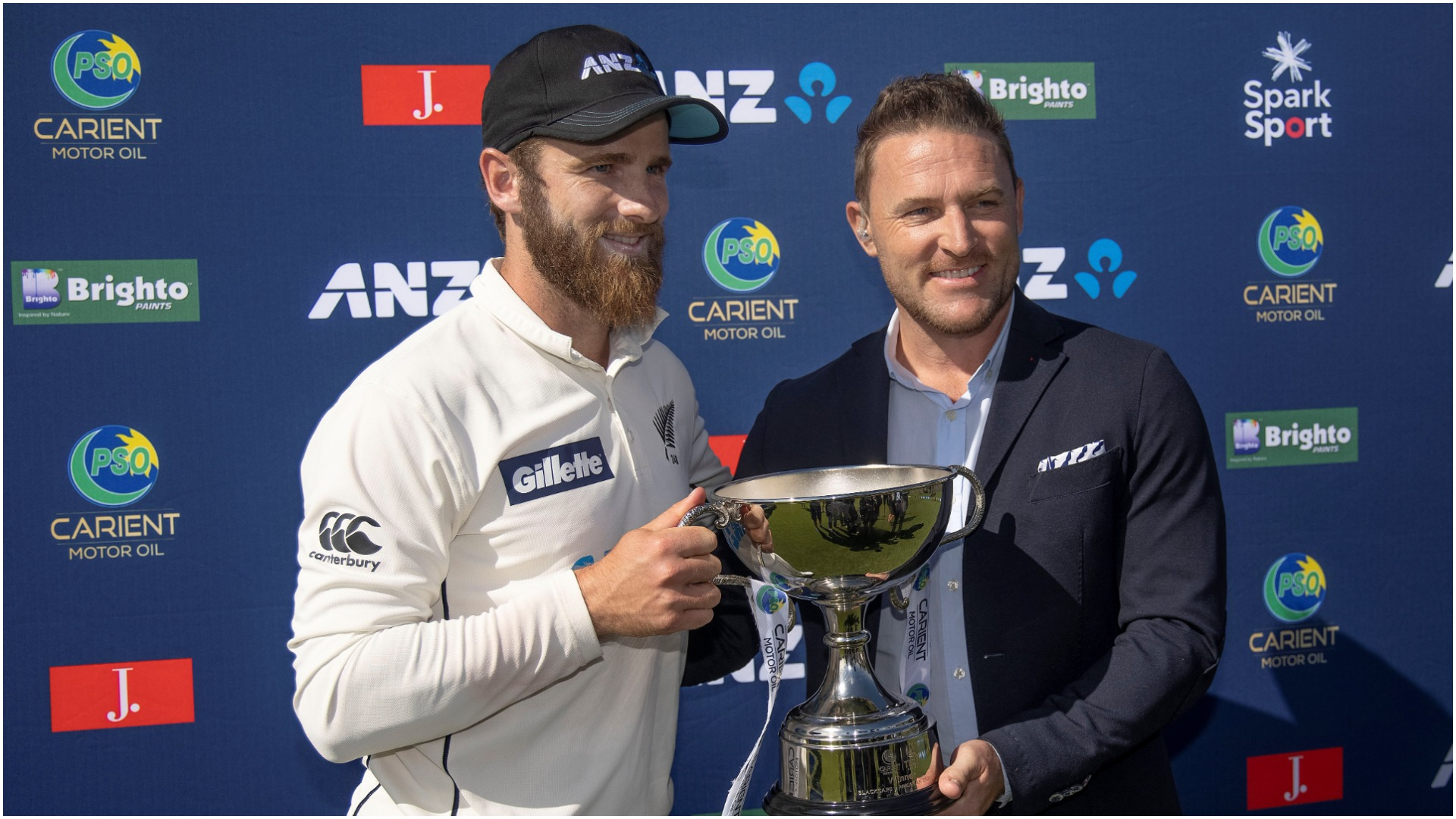 Williamson reflects on 'special moment' but says top-ranked New Zealand can improve