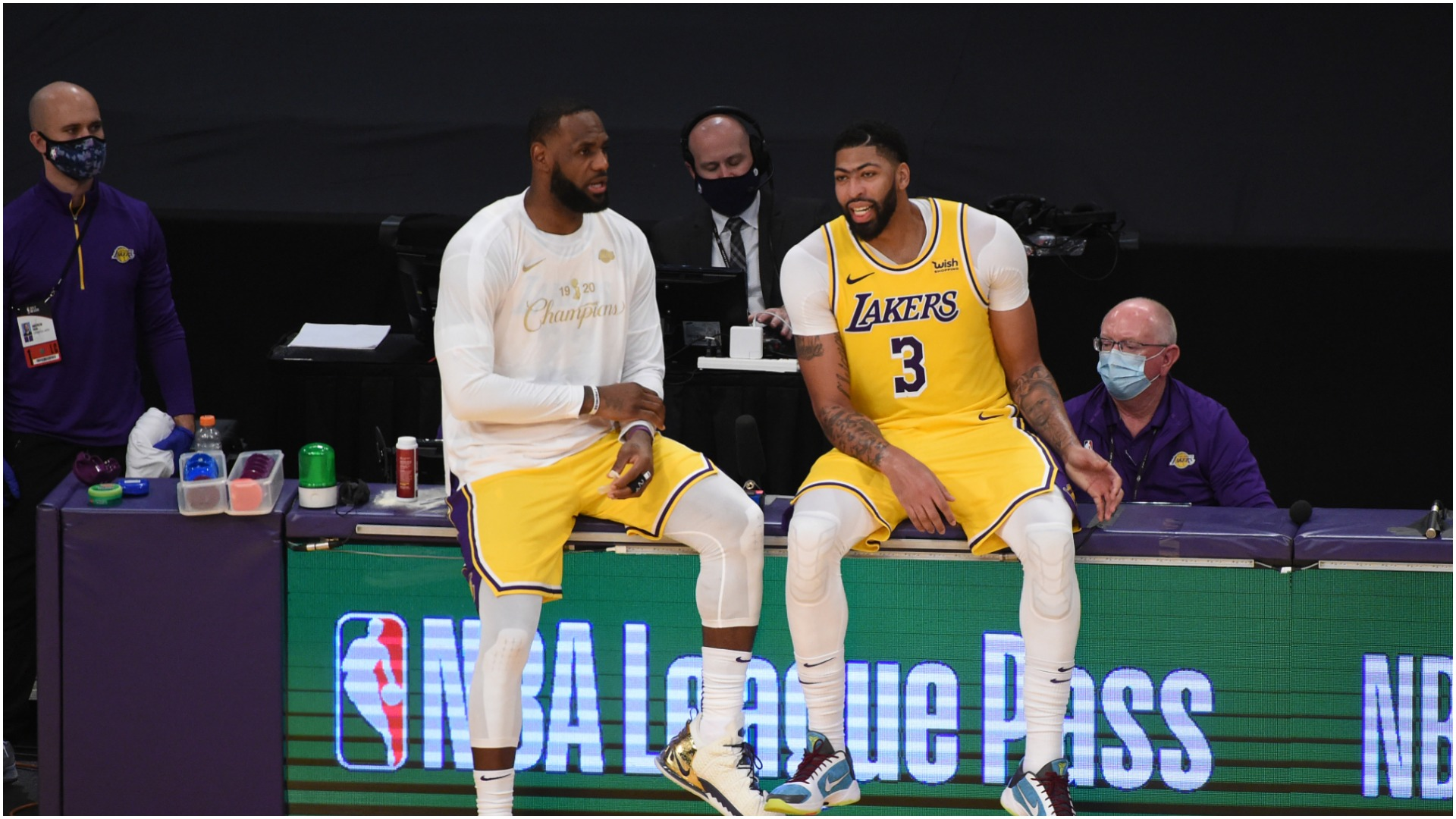 LeBron James' continued excellence no surprise to Anthony Davis