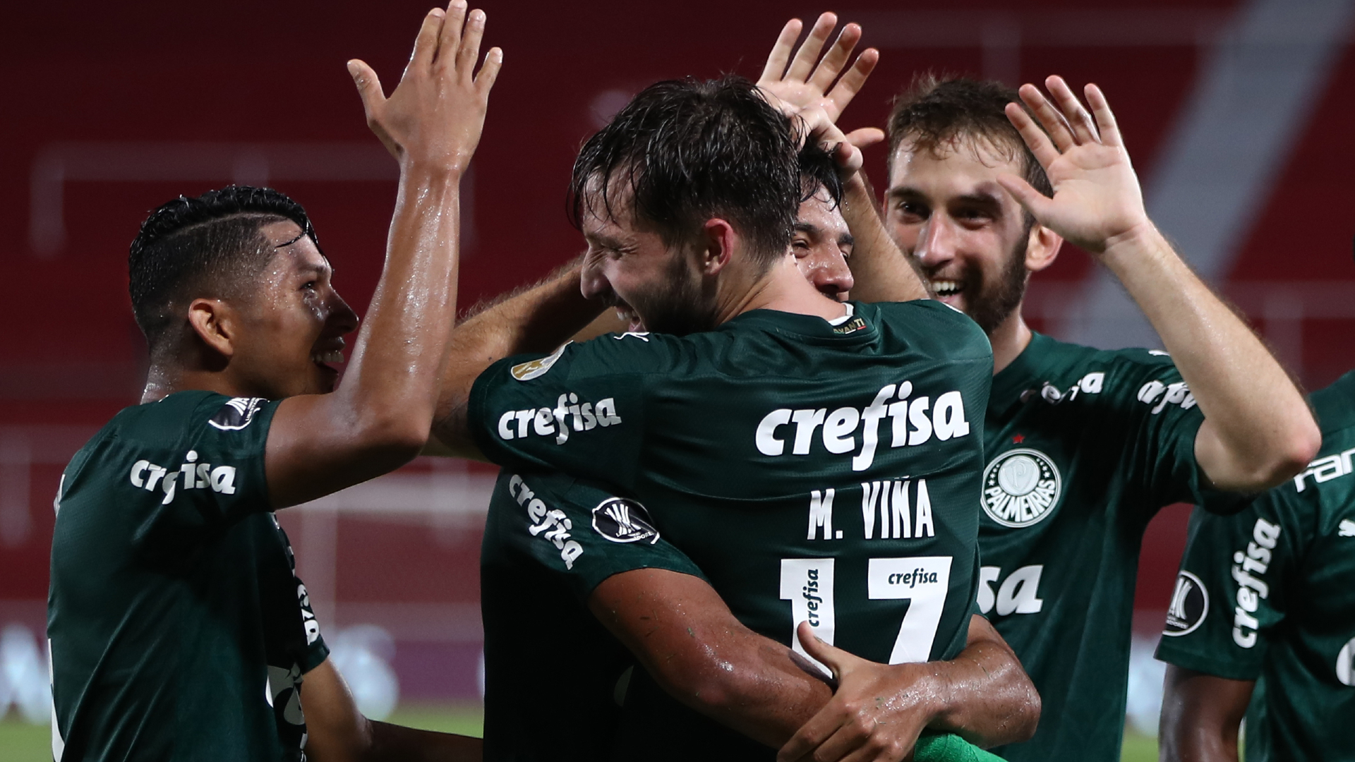 River Plate 0-3 Palmeiras: Brazilian outfit close in on final after stunning first-leg win