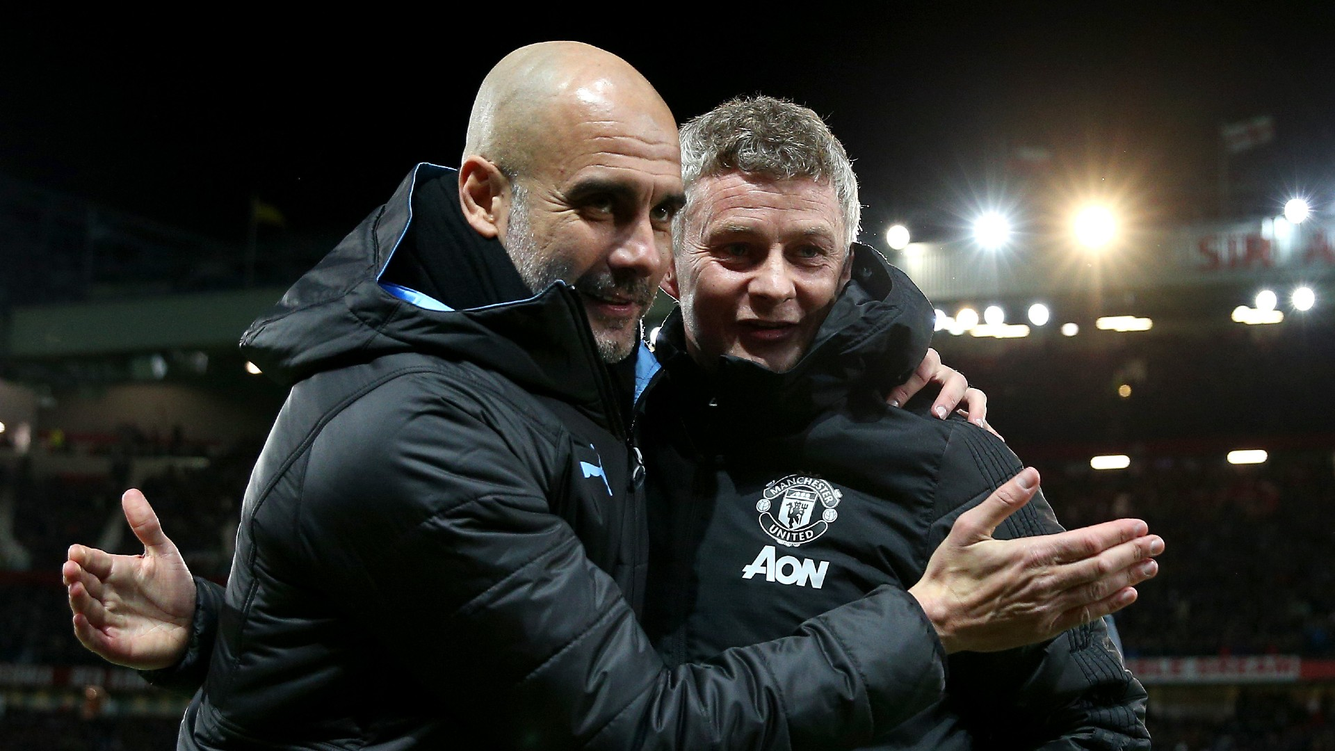 Guardiola honoured that City are top dogs in Manchester