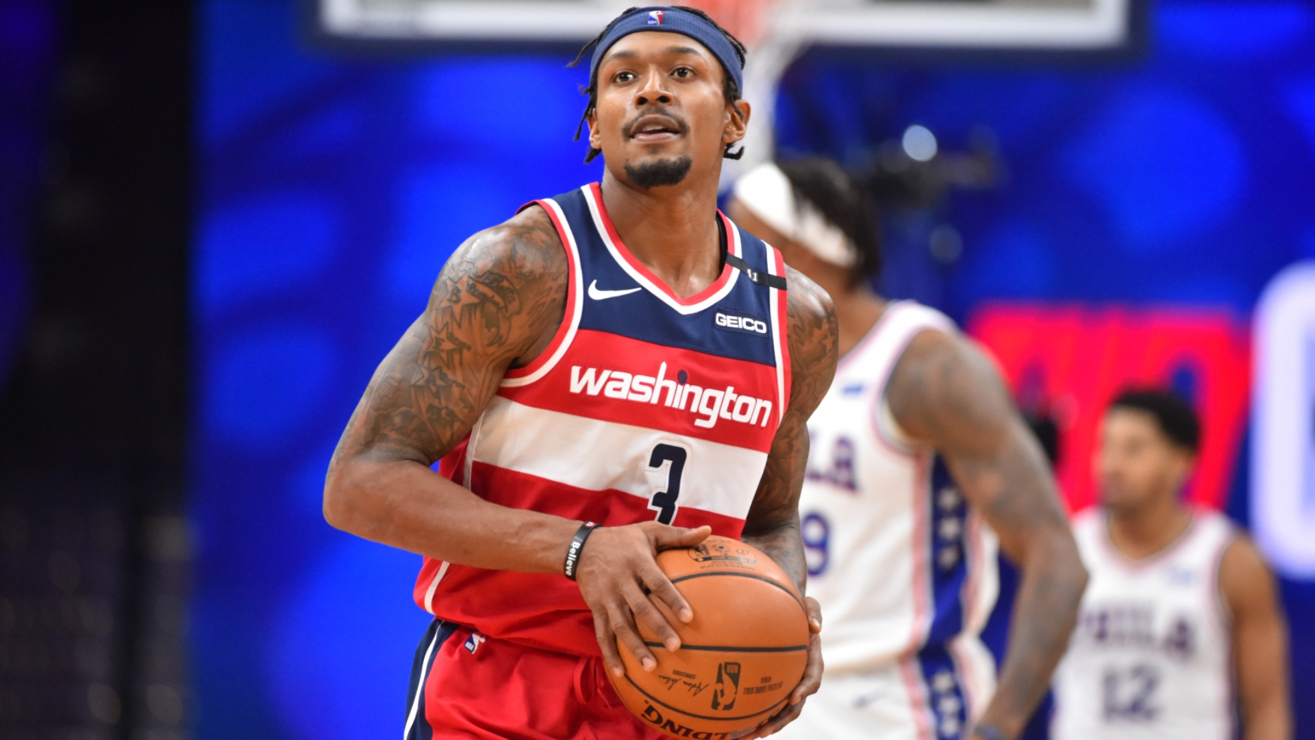 Beal 'doesn't give a damn' about equalling Wizards points record in defeat to 76ers