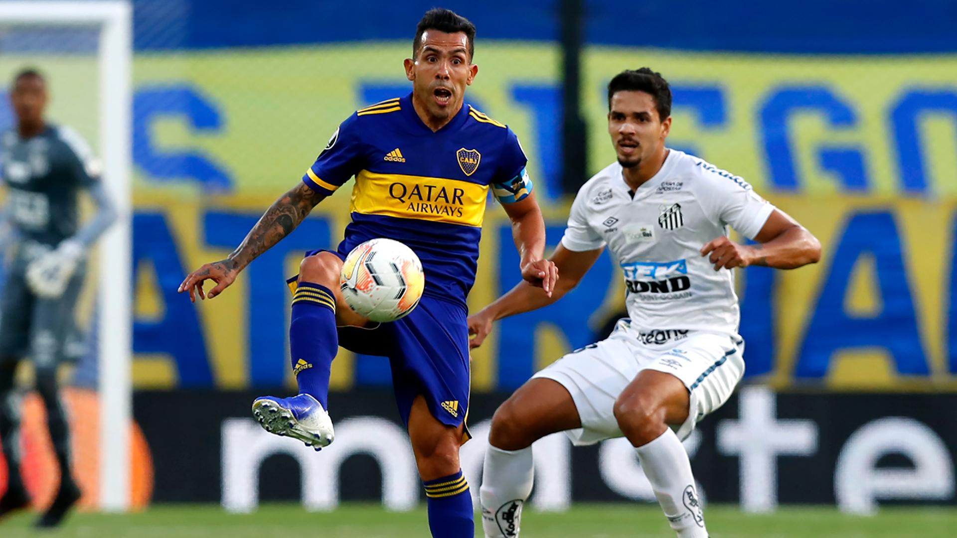 Boca Juniors 0-0 Santos: Semi-final first leg finishes goalless