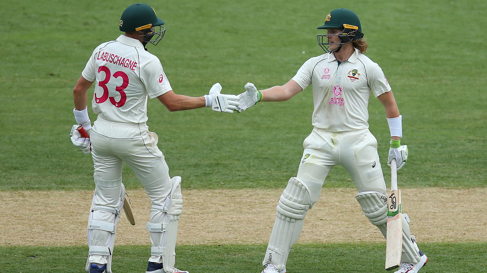 Australia make strong start to third Test in rainy Sydney