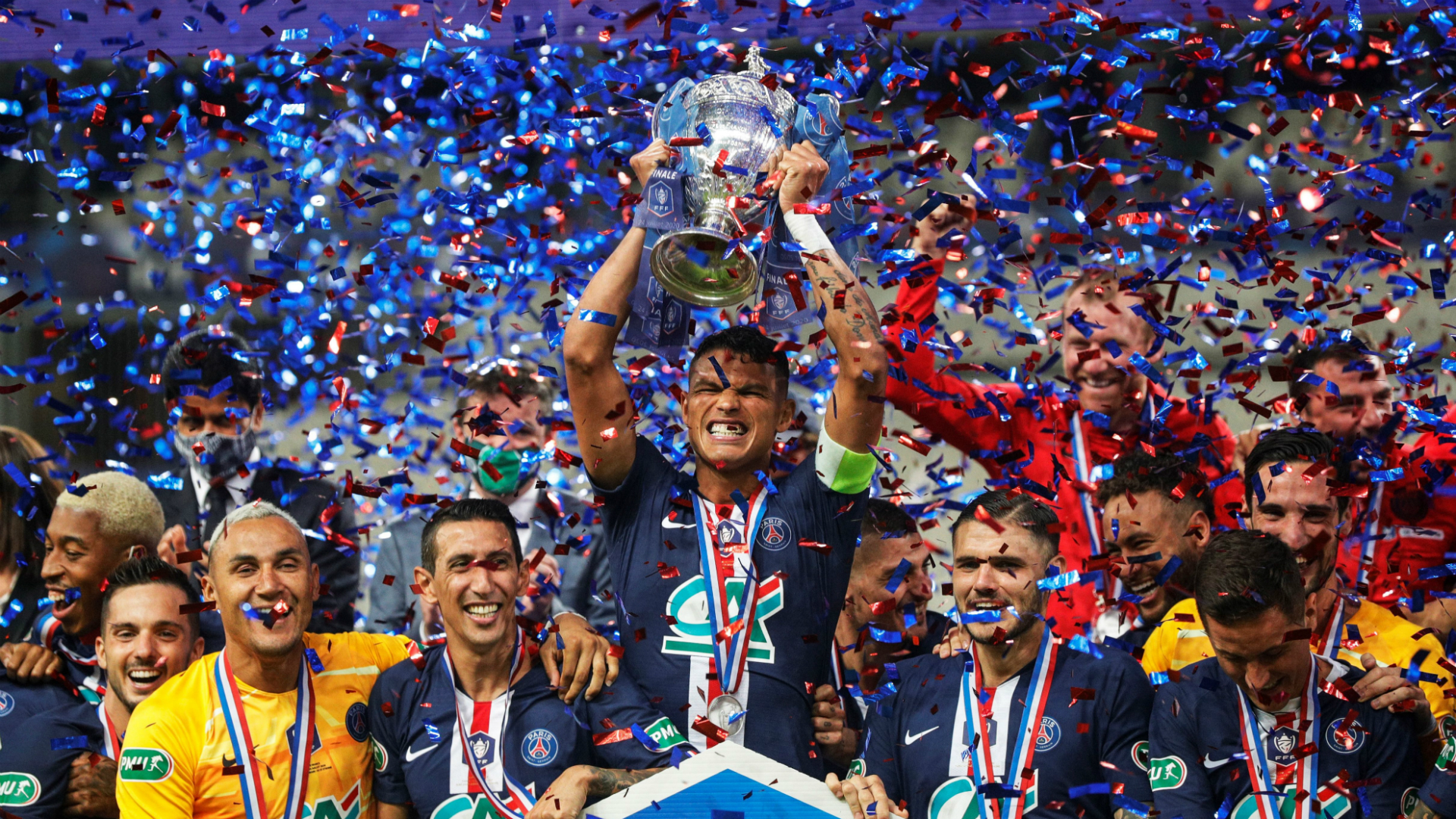 Holders PSG paired with Guingamp or Caen in Coupe de France