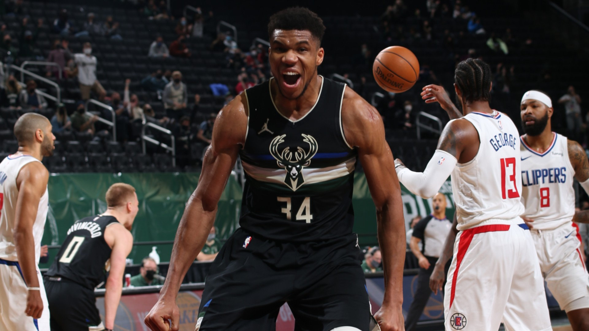 Bucks star Giannis relishes blockbuster battles after taming Kawhi's Clippers: Feels like greatness