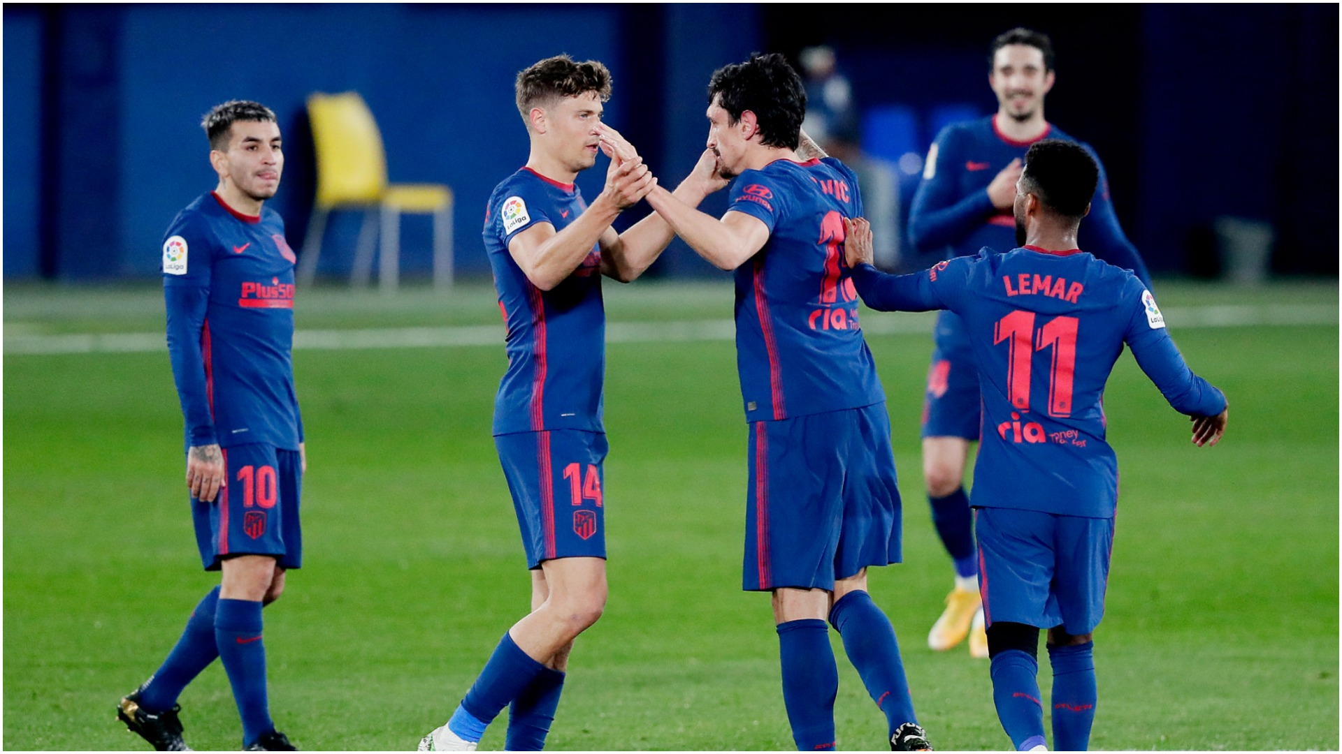 Villarreal 0-2 Atletico Madrid: Simeone's side revive LaLiga title bid