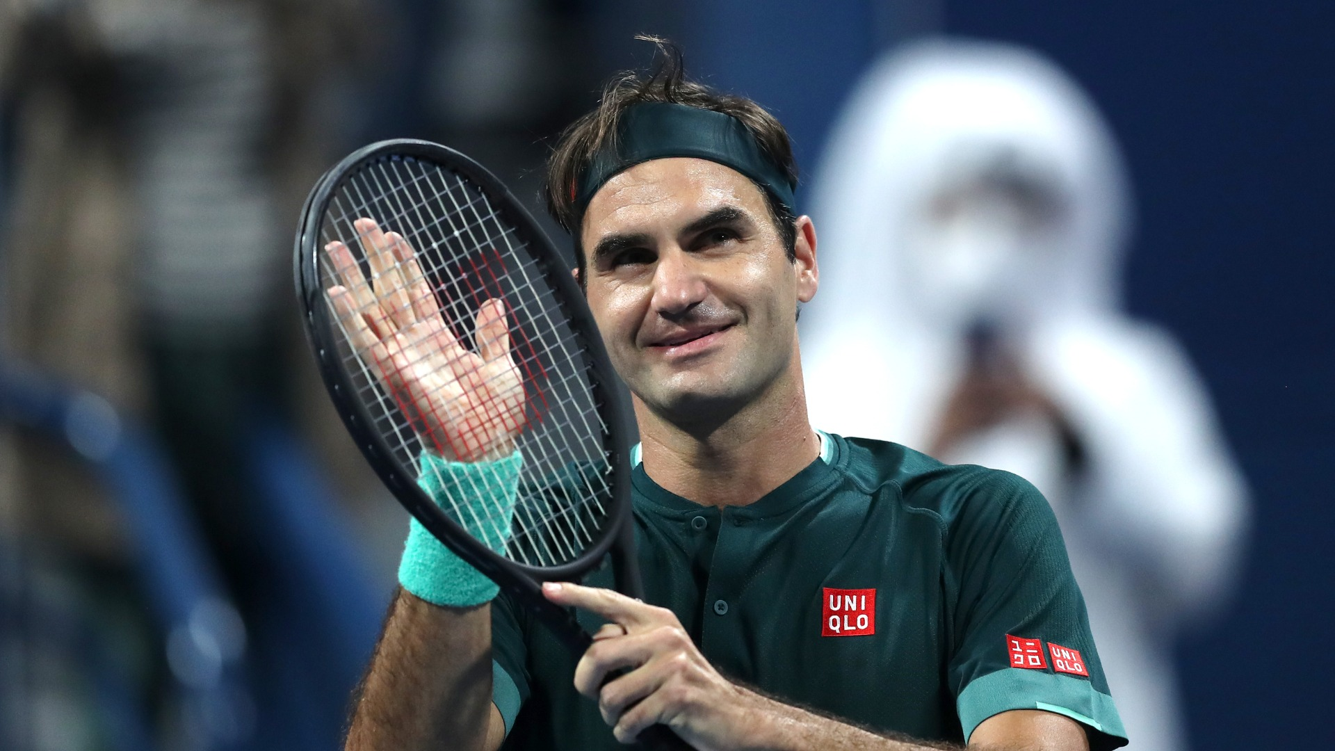 Tired Federer 'incredibly happy' to make winning return in Doha