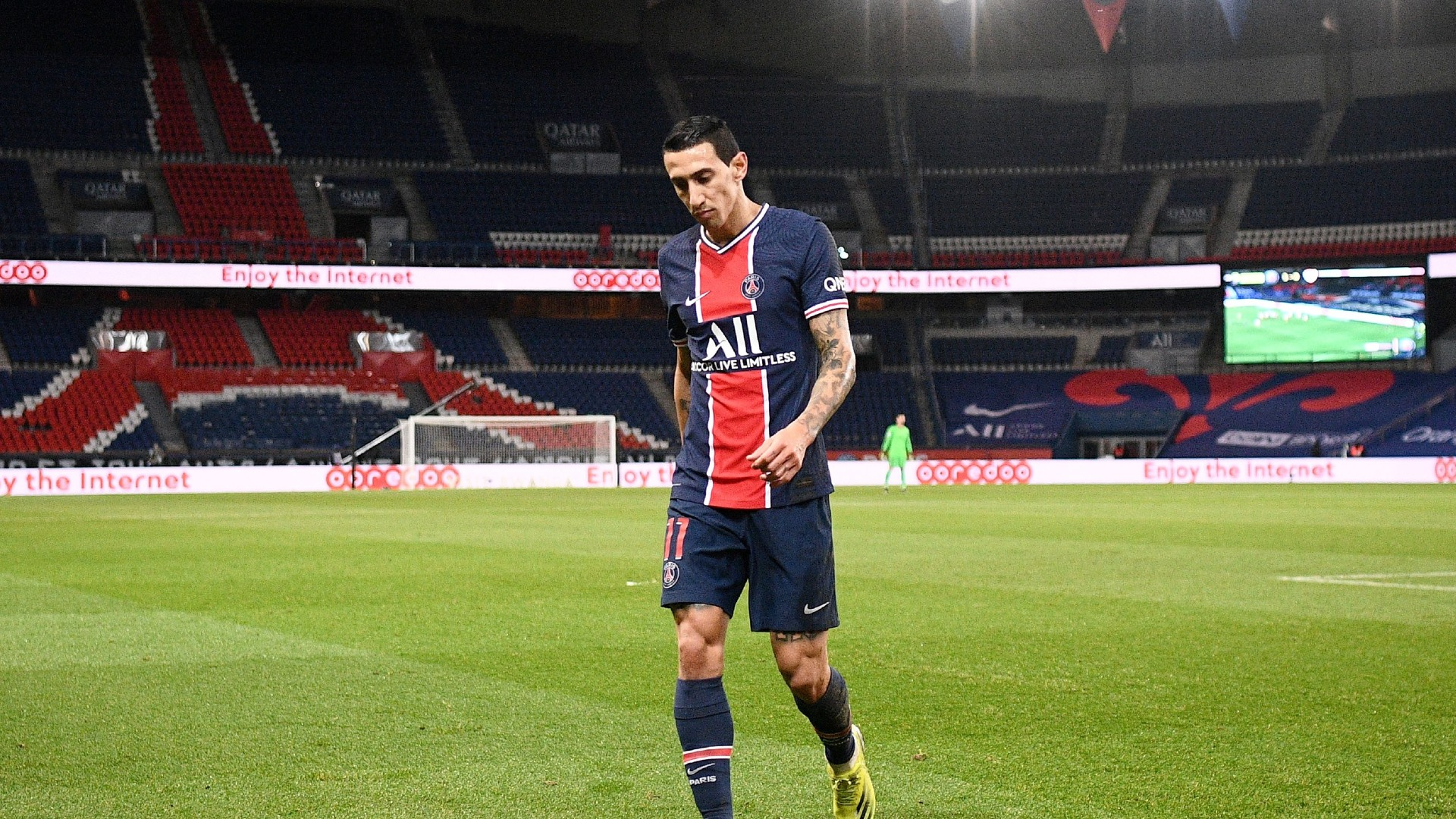 Di Maria and PSG team-mate have homes broken into during clash with Nantes