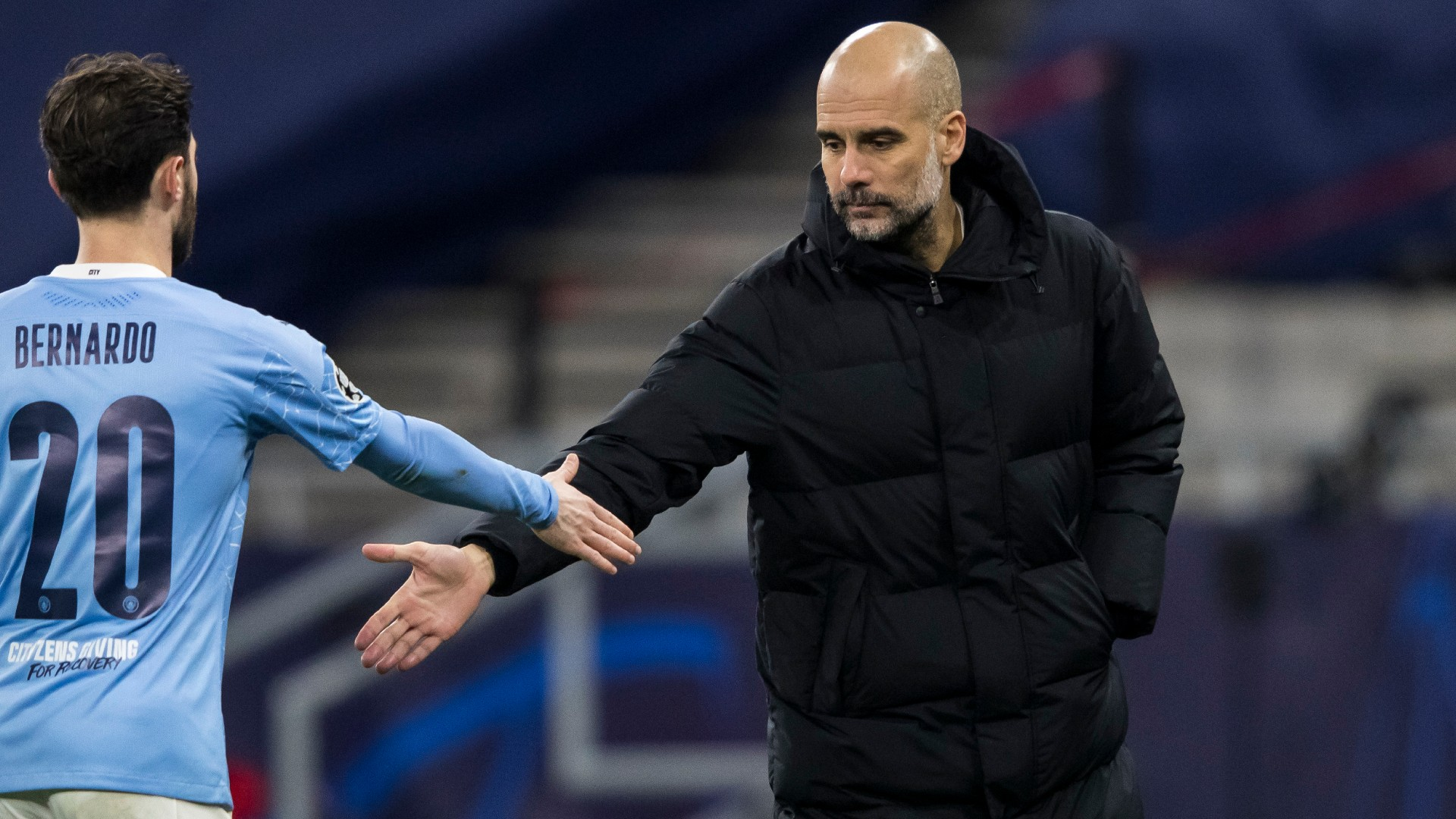 Guardiola's buoyant City not dwelling on Champions League woes