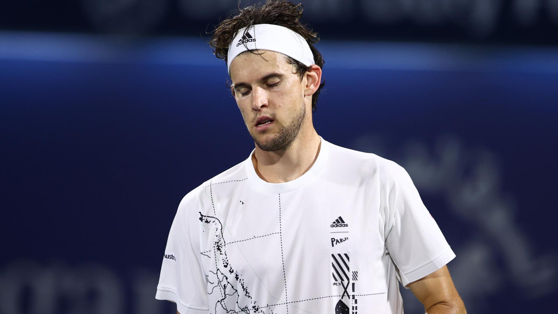 Thiem stunned by Harris in second round in Dubai