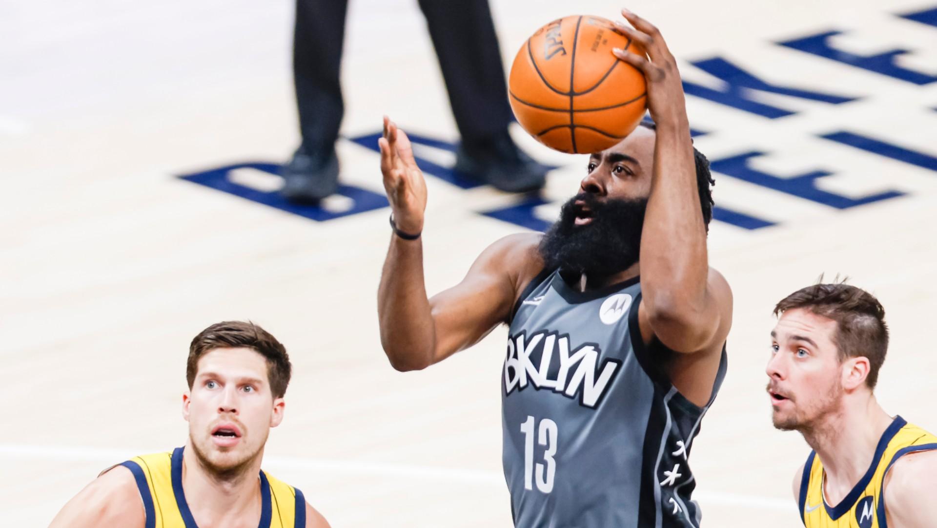 Nash hails 'remarkable' Harden after monster triple-double inspires Nets