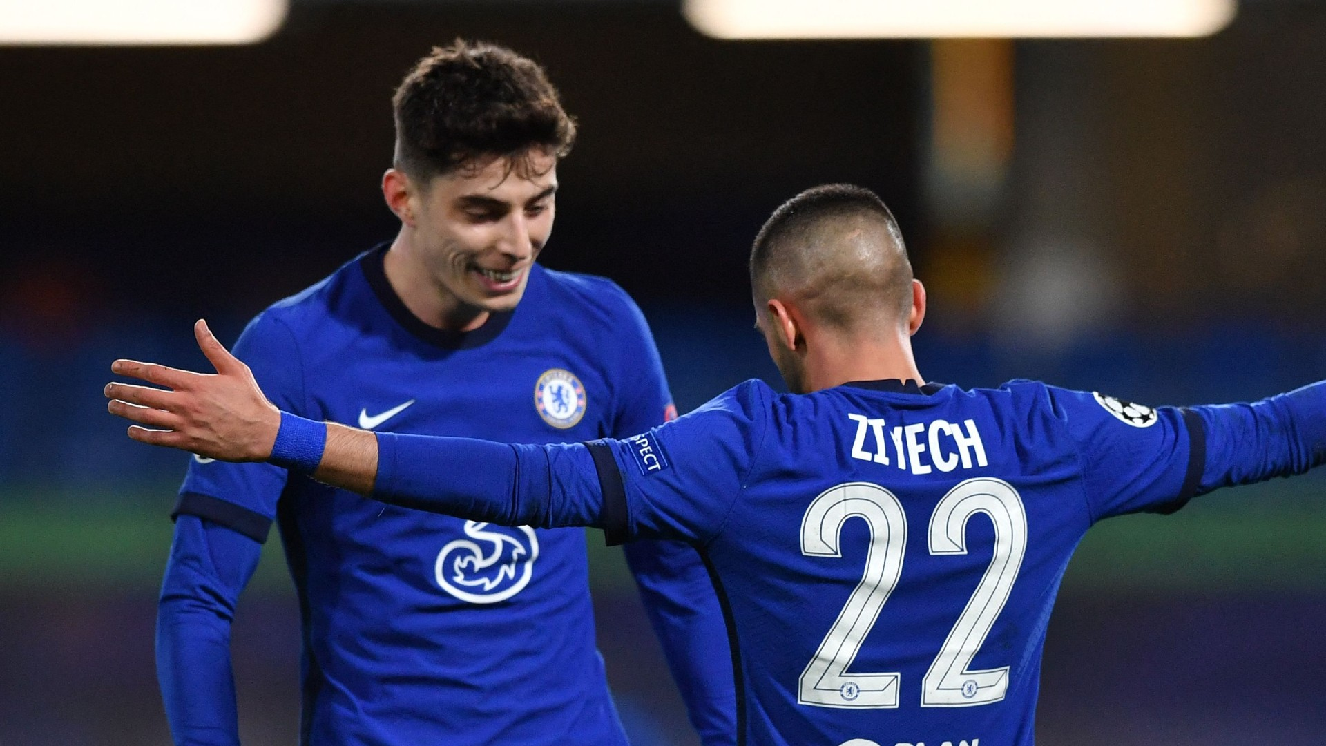 Ziyech, Werner and Havertz torment Atletico to keep Tuchel's Chelsea on track