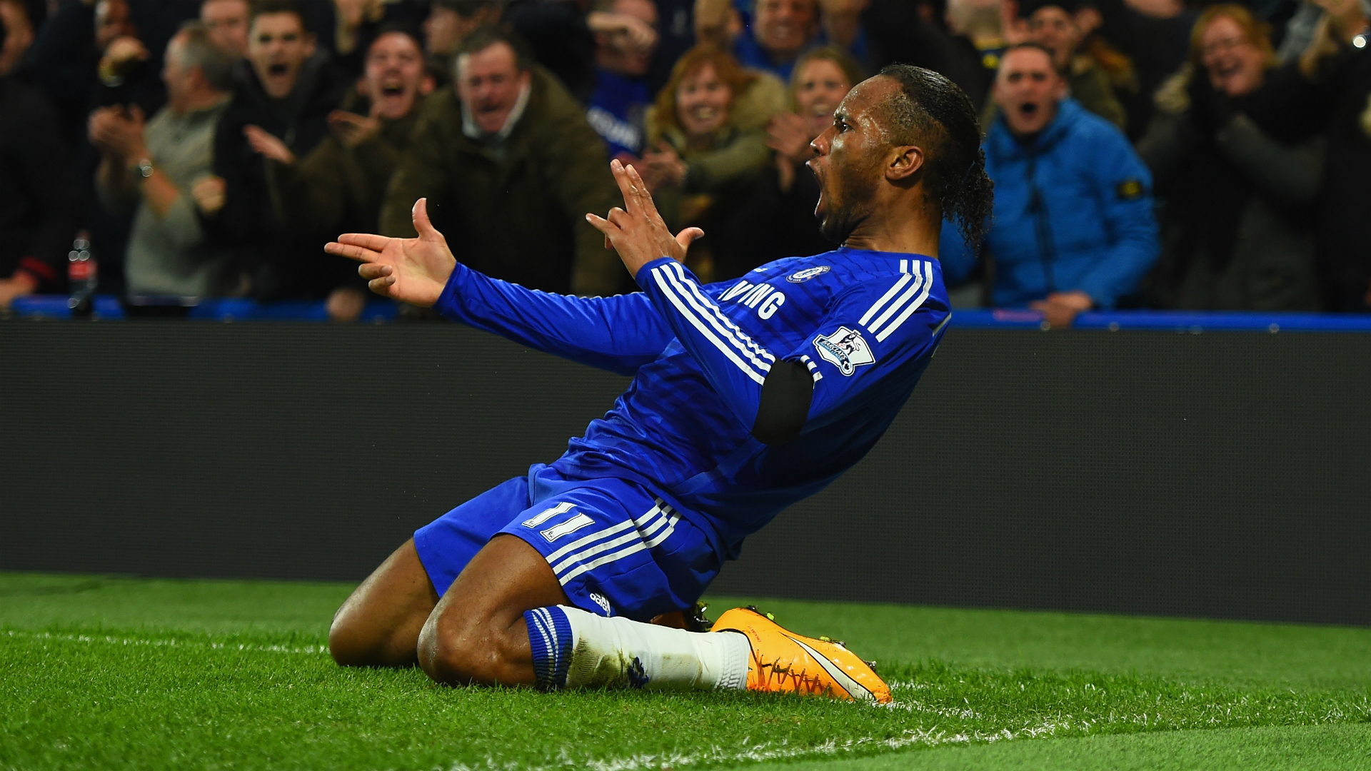 Chelsea great Drogba in Broja's sights
